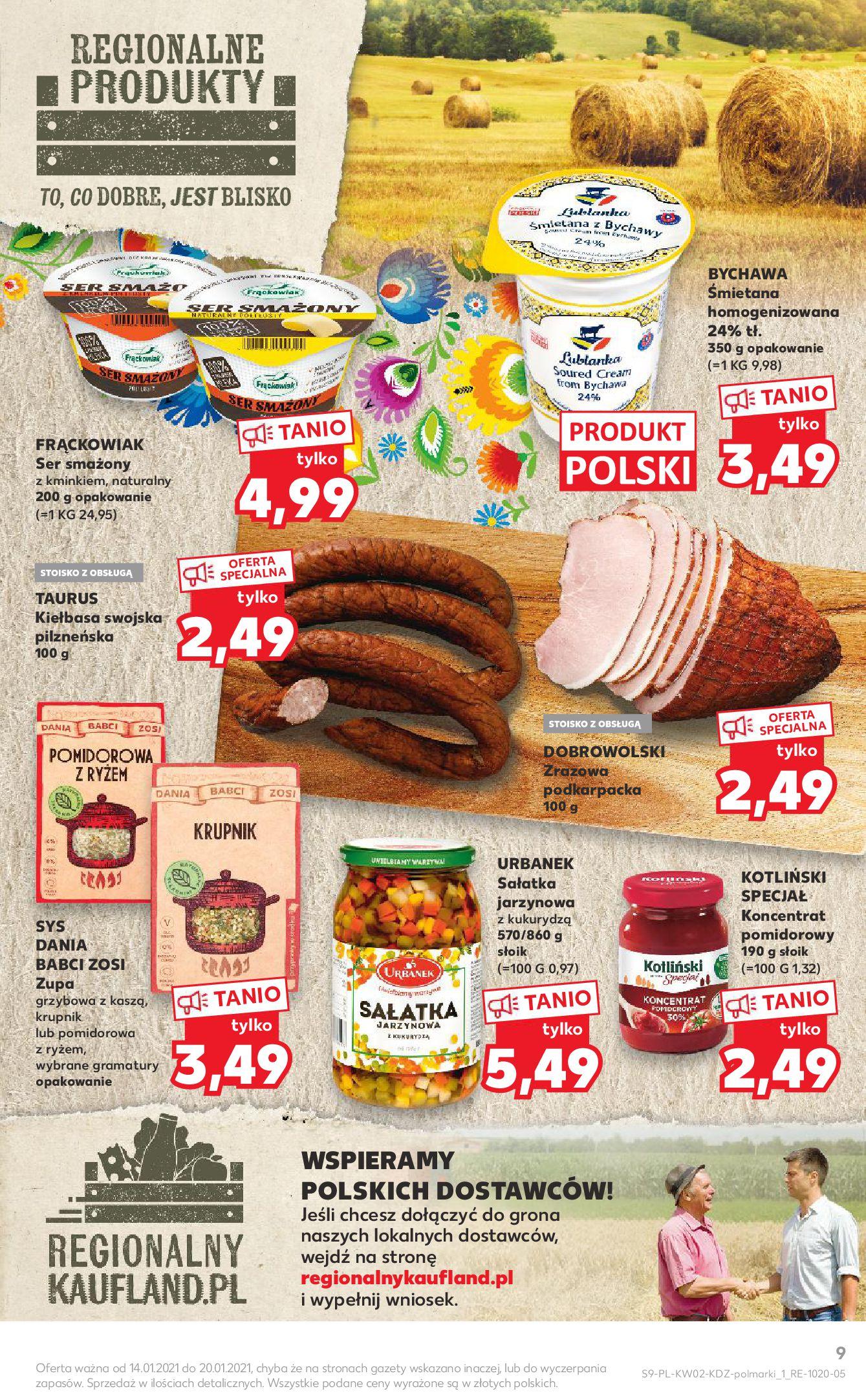 Gazetka Kaufland: Gazetka promocyjna od 13.01 2021-01-14 page-9