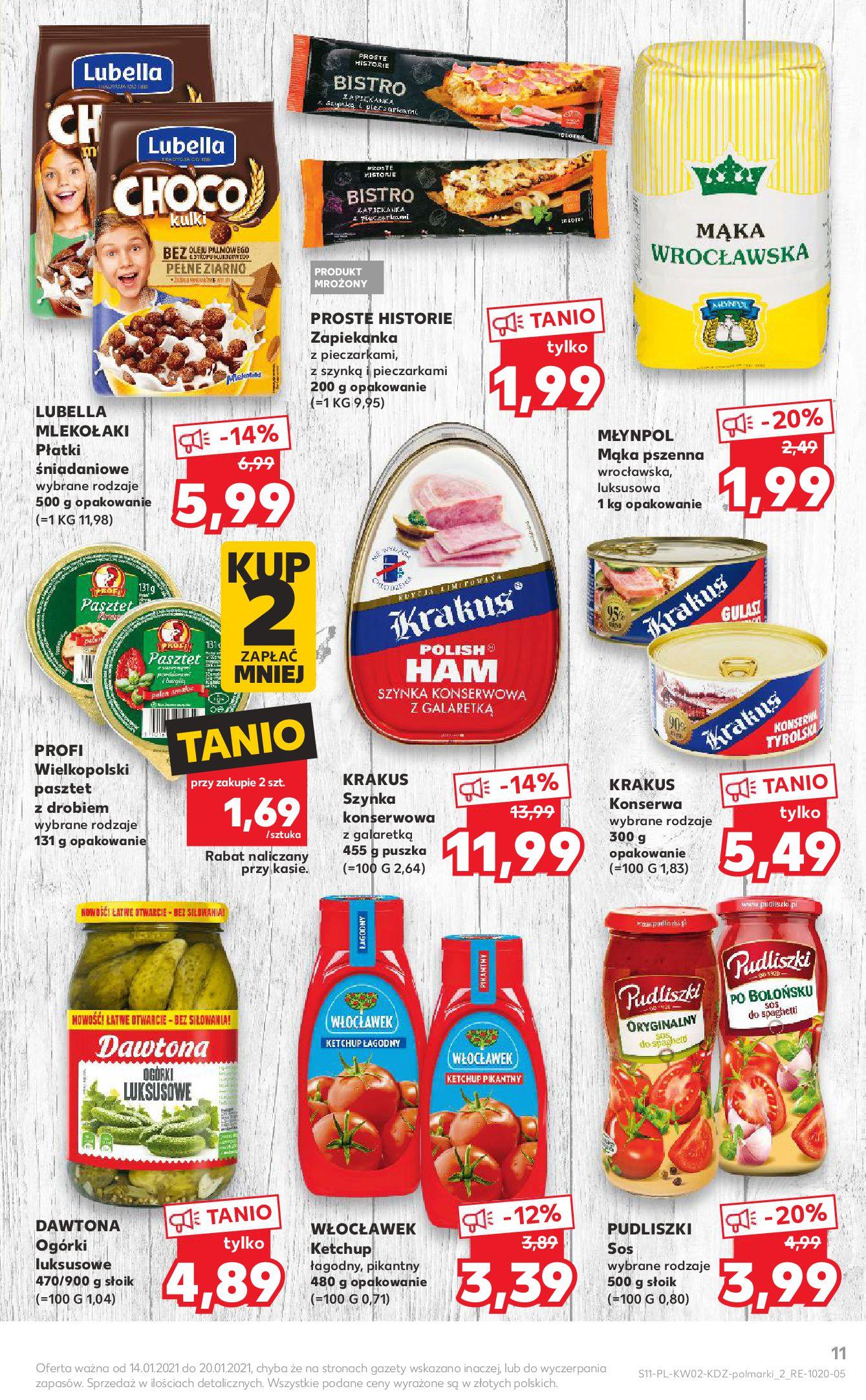 Gazetka Kaufland: Gazetka promocyjna od 13.01 2021-01-14 page-11