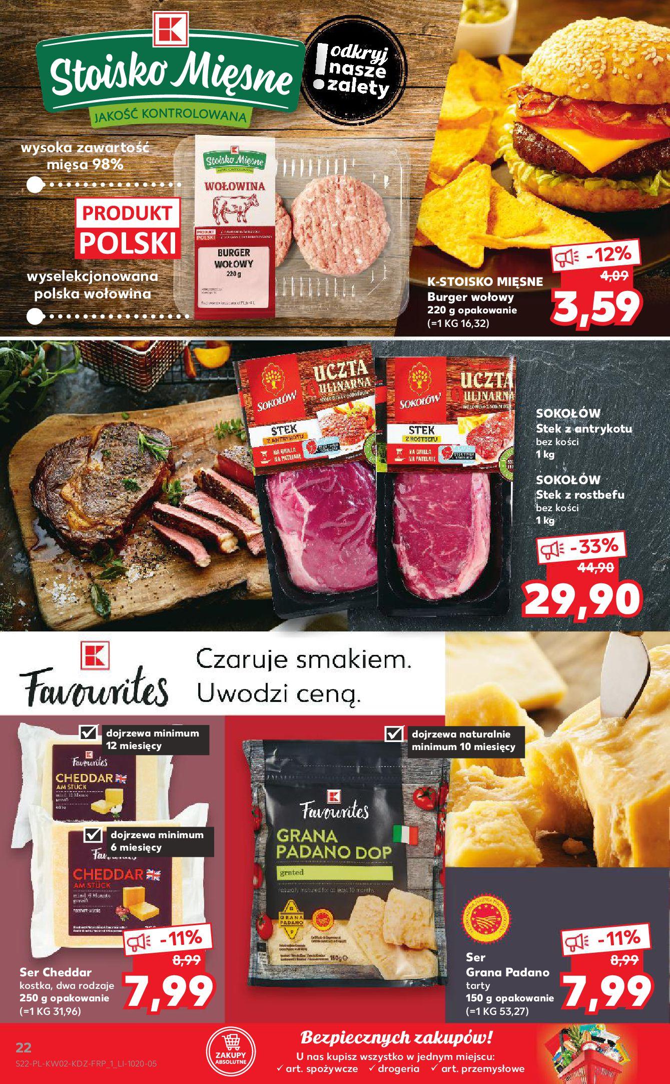 Gazetka Kaufland: Gazetka promocyjna od 13.01 2021-01-14 page-22