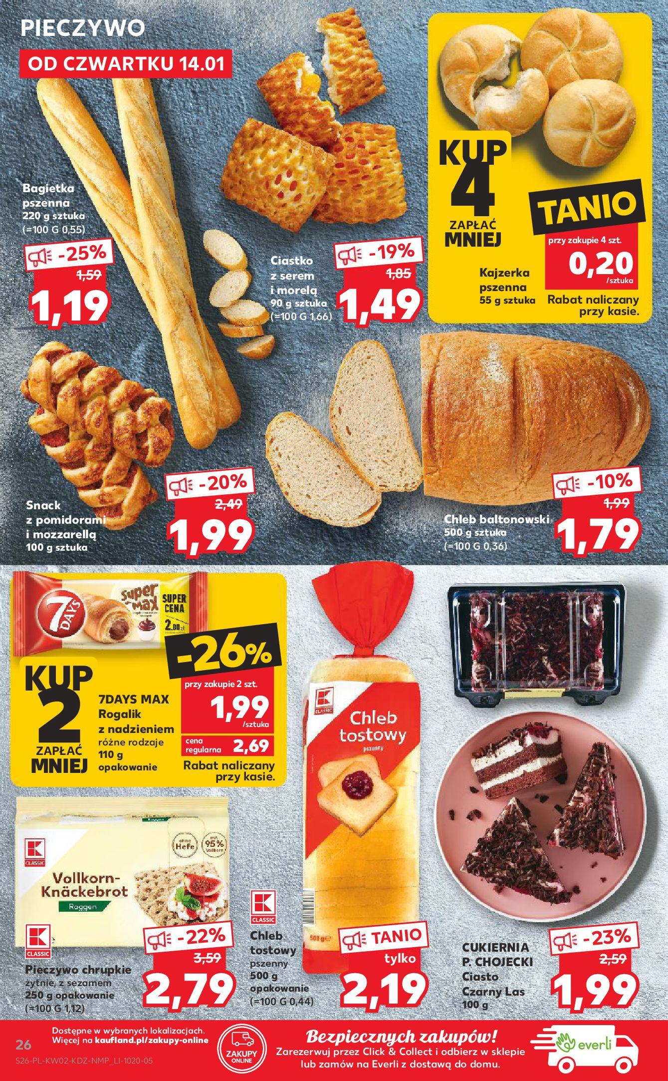 Gazetka Kaufland: Gazetka promocyjna od 13.01 2021-01-14 page-26