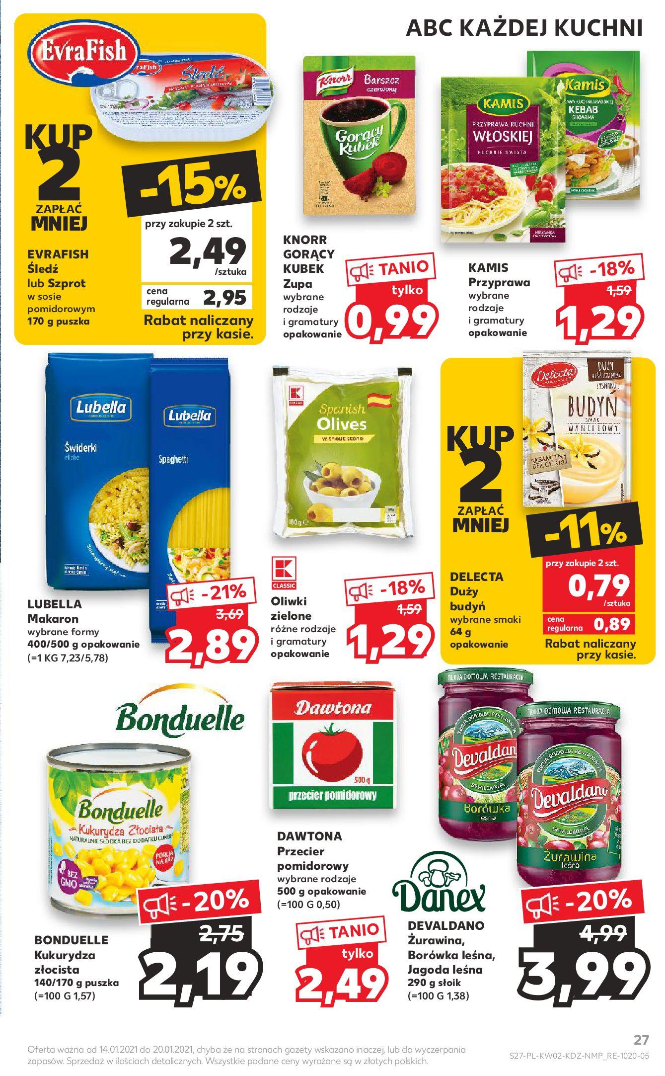Gazetka Kaufland: Gazetka promocyjna od 13.01 2021-01-14 page-27