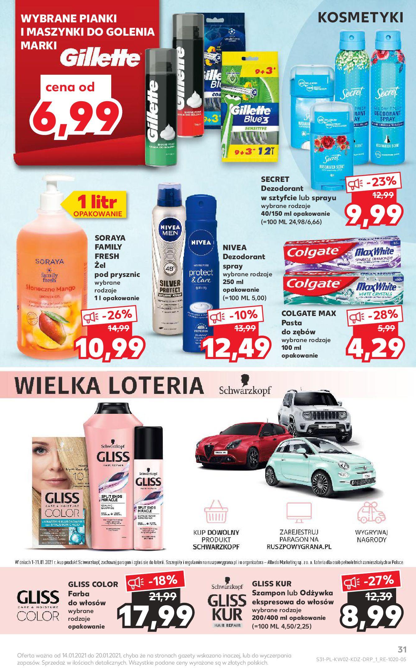 Gazetka Kaufland: Gazetka promocyjna od 13.01 2021-01-14 page-31