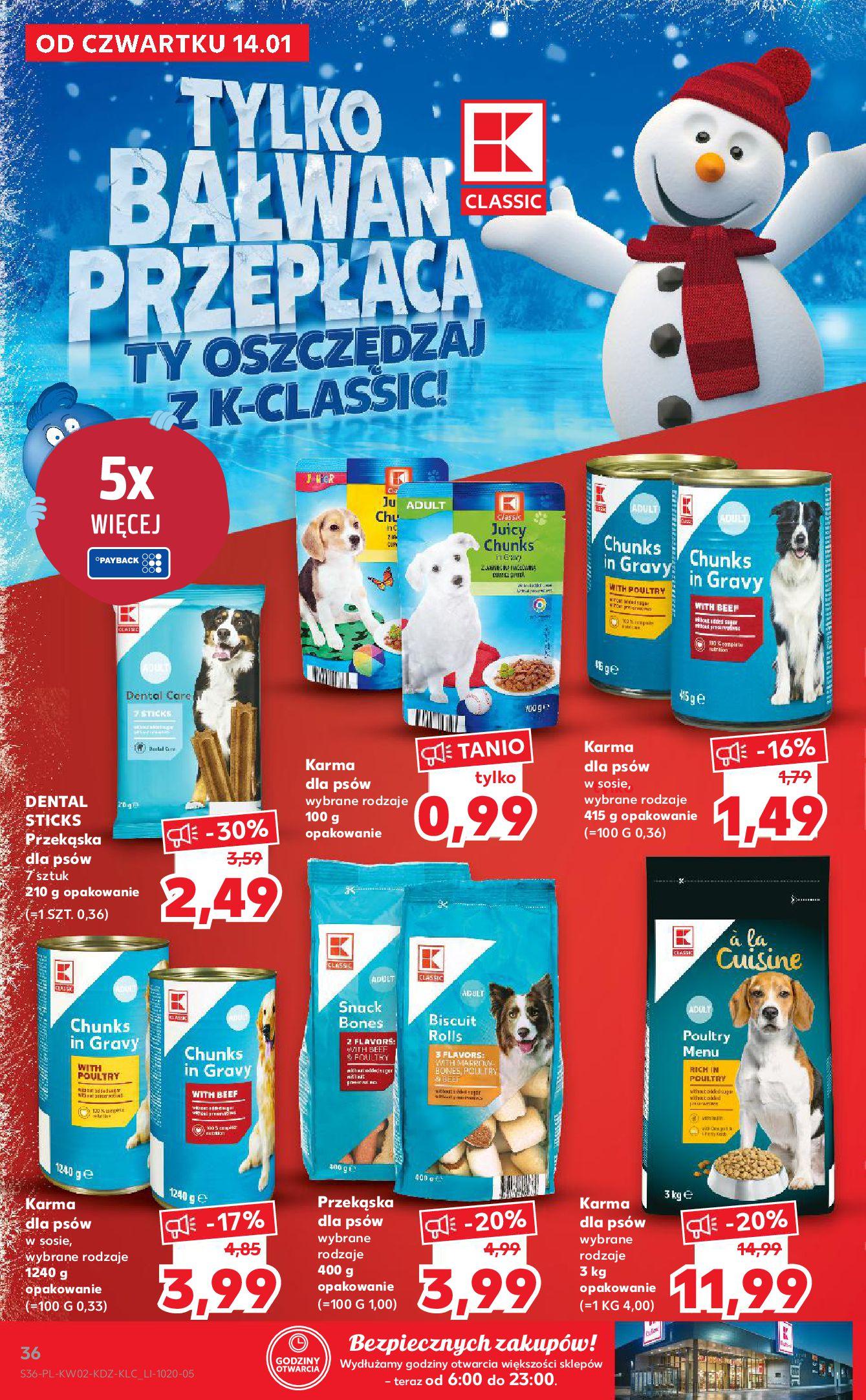 Gazetka Kaufland: Gazetka promocyjna od 13.01 2021-01-14 page-36