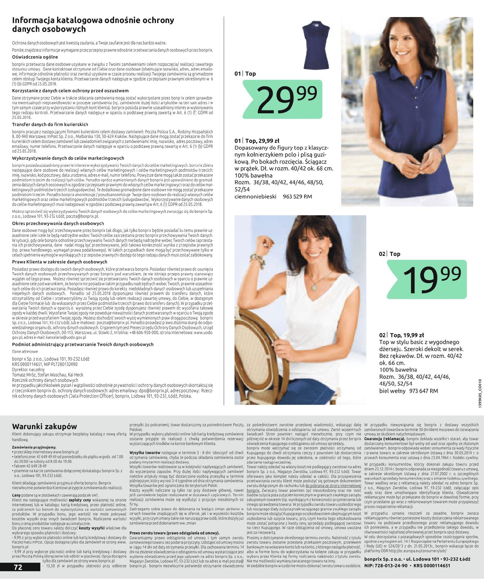 Gazetka Bonprix - Nadchodzi lato!-02.07.2019-20.11.2019-page-74