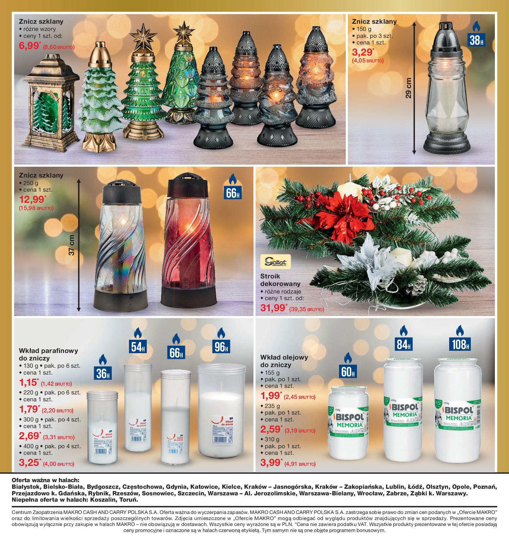Gazetka Makro - Ozdoby świąteczne-02.12.2019-16.12.2019-page-9