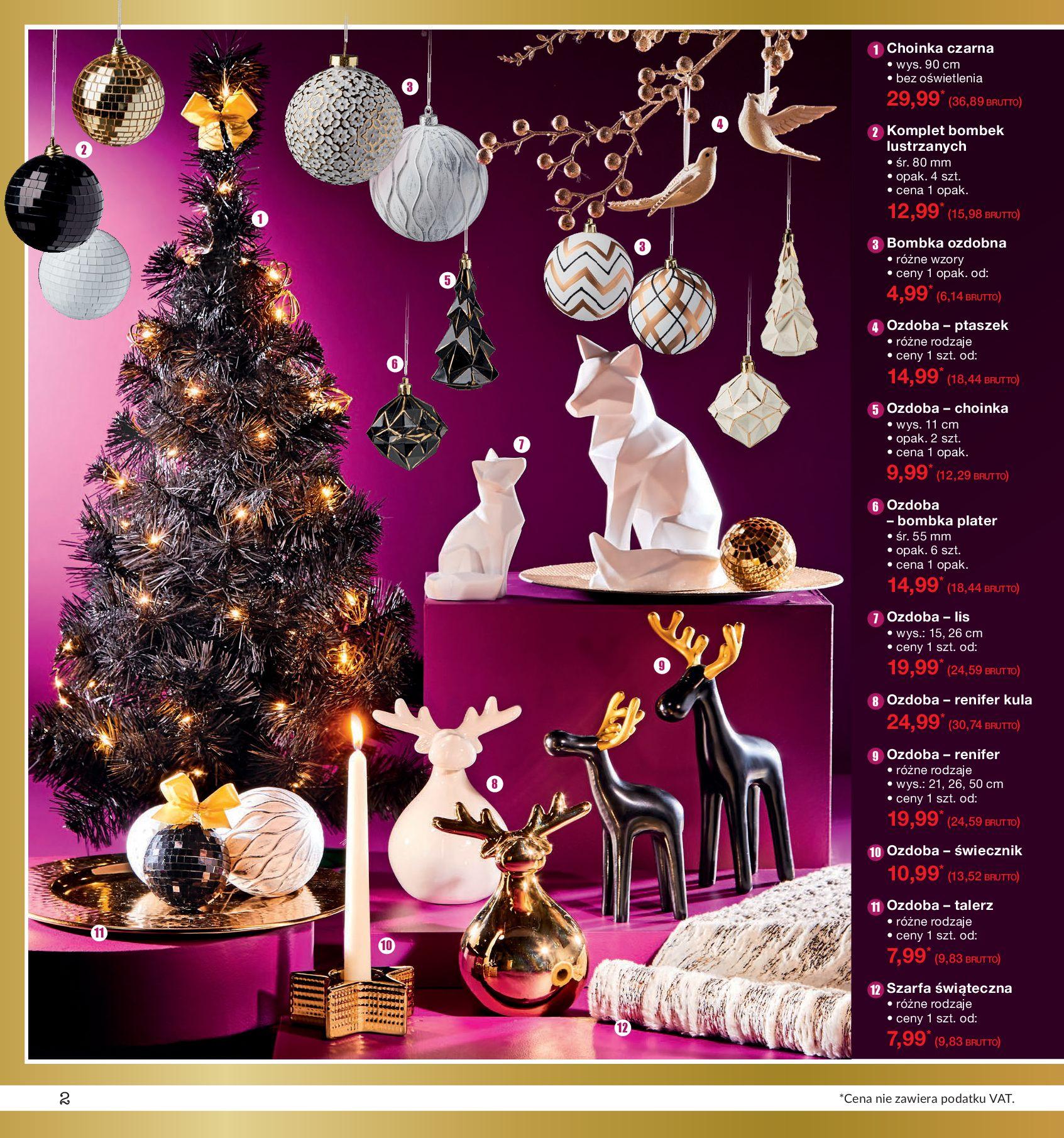 Gazetka Makro - Ozdoby świąteczne-02.12.2019-16.12.2019-page-2