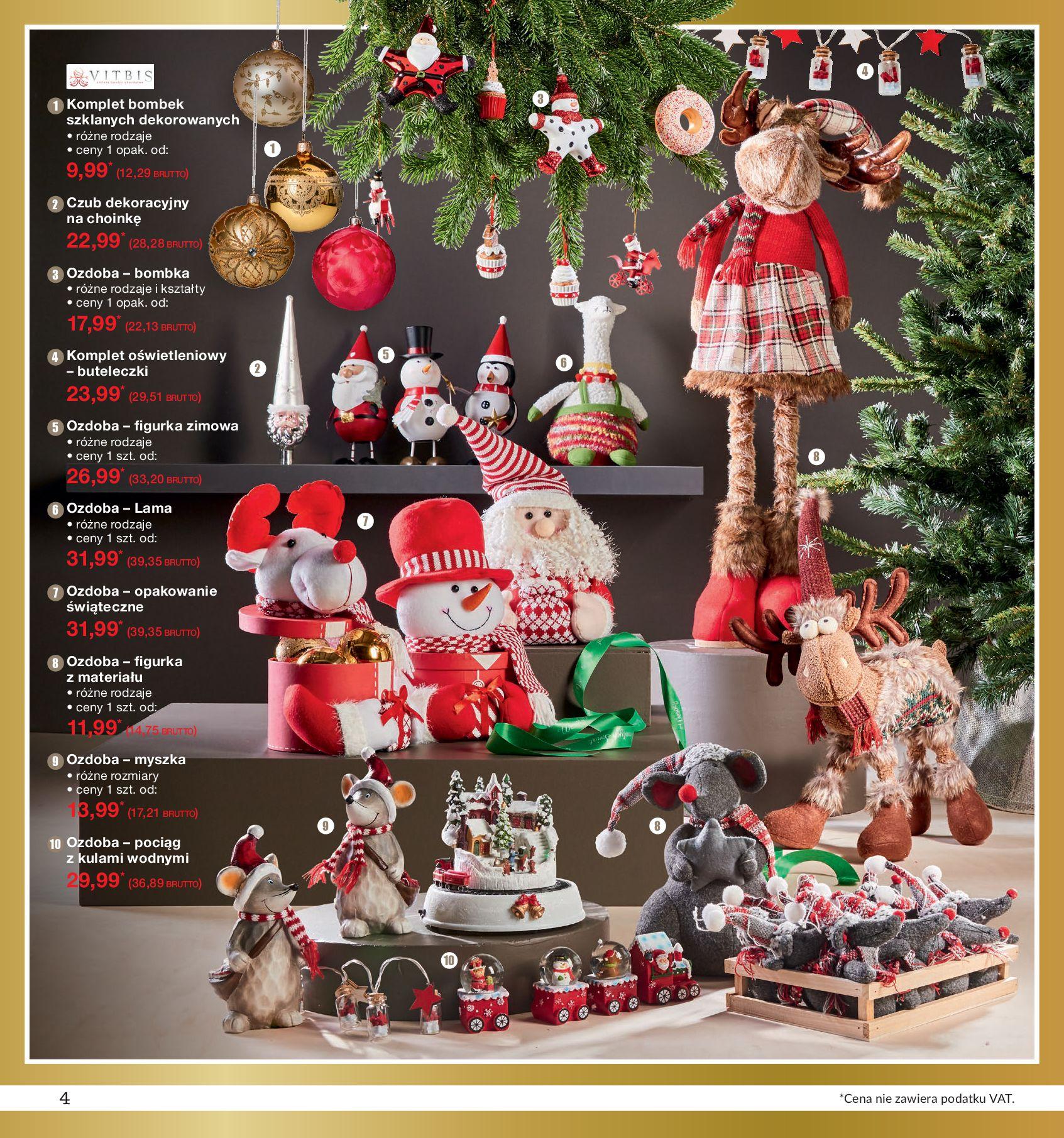 Gazetka Makro - Ozdoby świąteczne-02.12.2019-16.12.2019-page-4