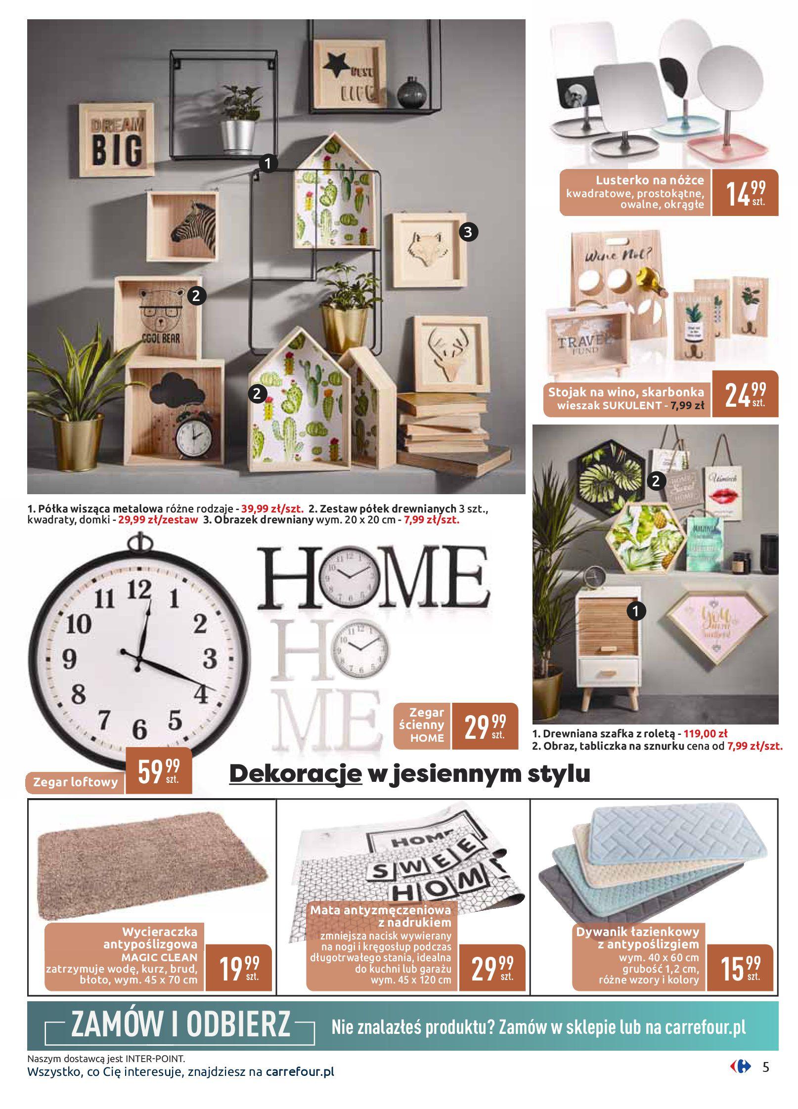 Gazetka Carrefour - Dom w ciepłych barwach-09.09.2019-21.09.2019-page-5