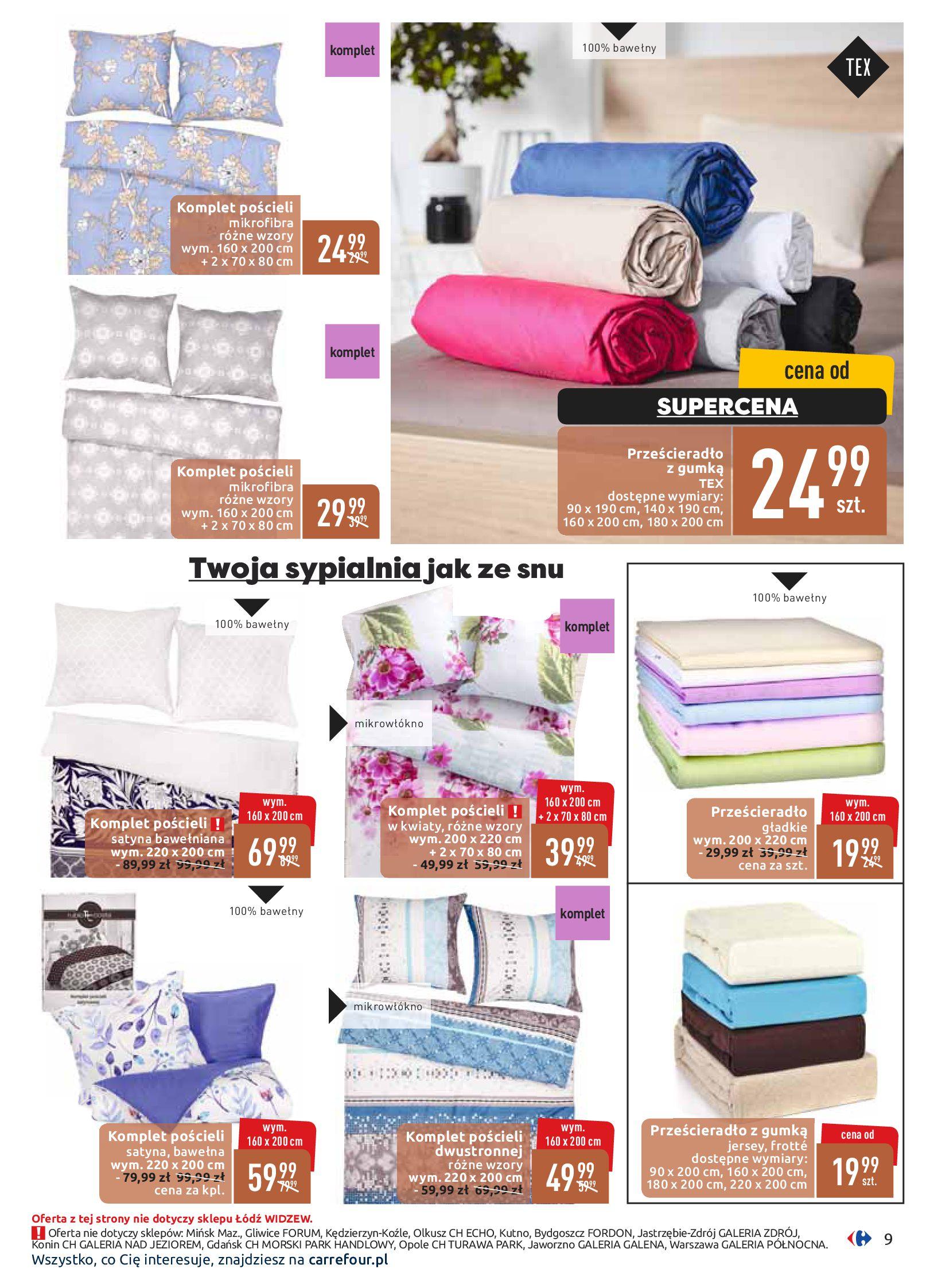 Gazetka Carrefour - Dom w ciepłych barwach-09.09.2019-21.09.2019-page-9