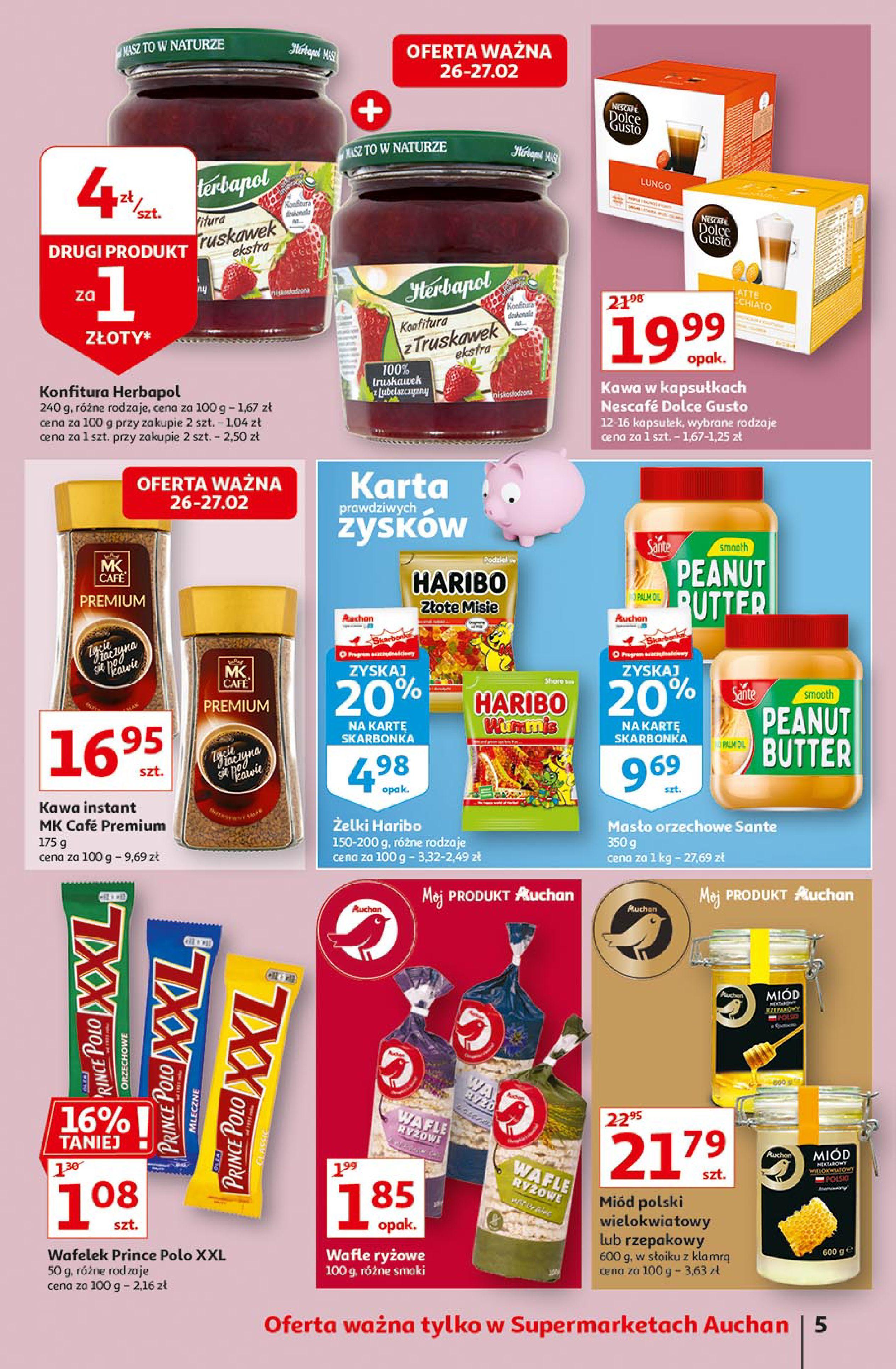 Gazetka Auchan: Uroda Supermarkety 2021-02-26 page-5