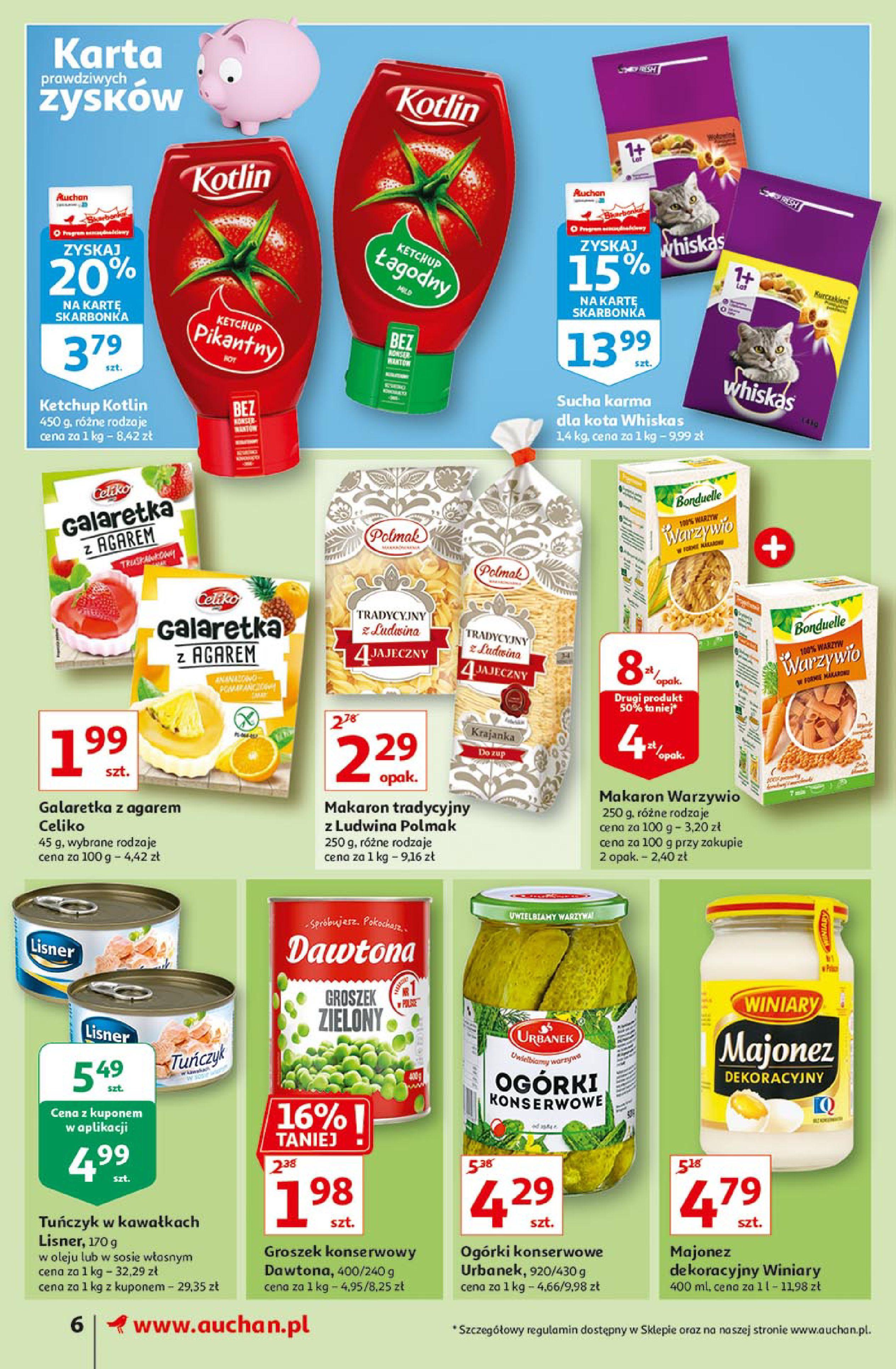Gazetka Auchan: Uroda Supermarkety 2021-02-26 page-6
