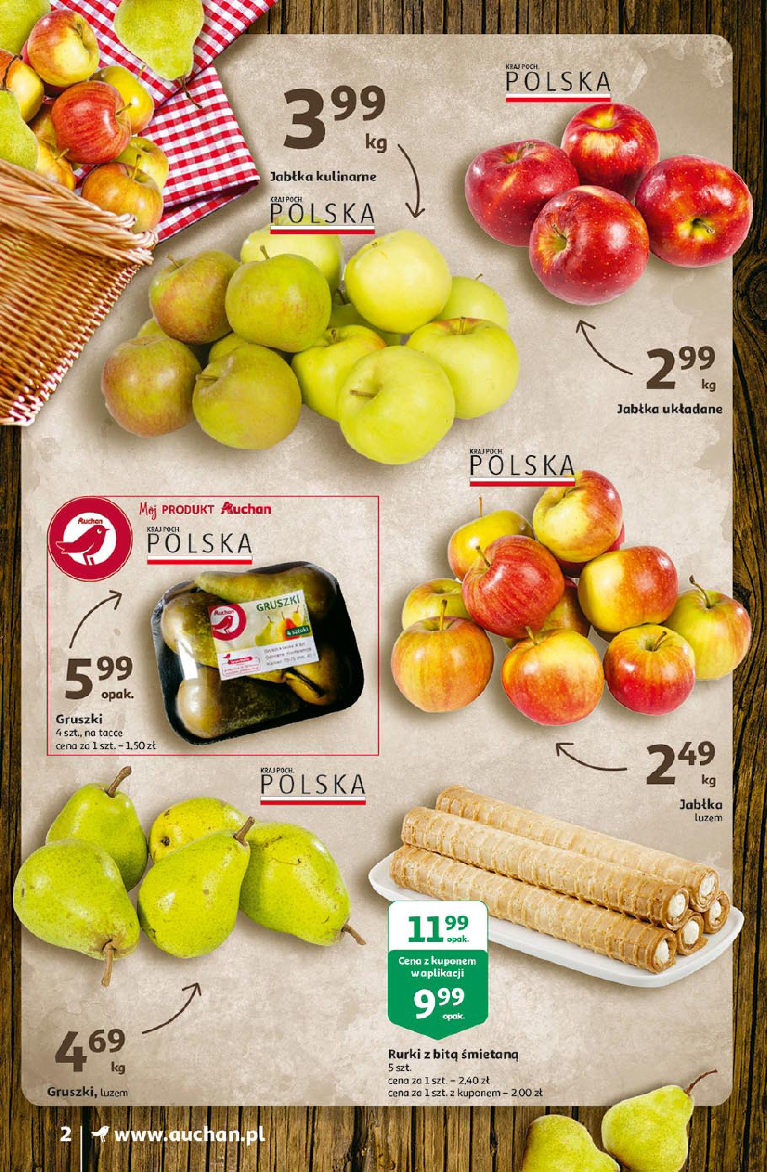 Gazetka Auchan: Uroda Supermarkety 2021-02-26 page-2