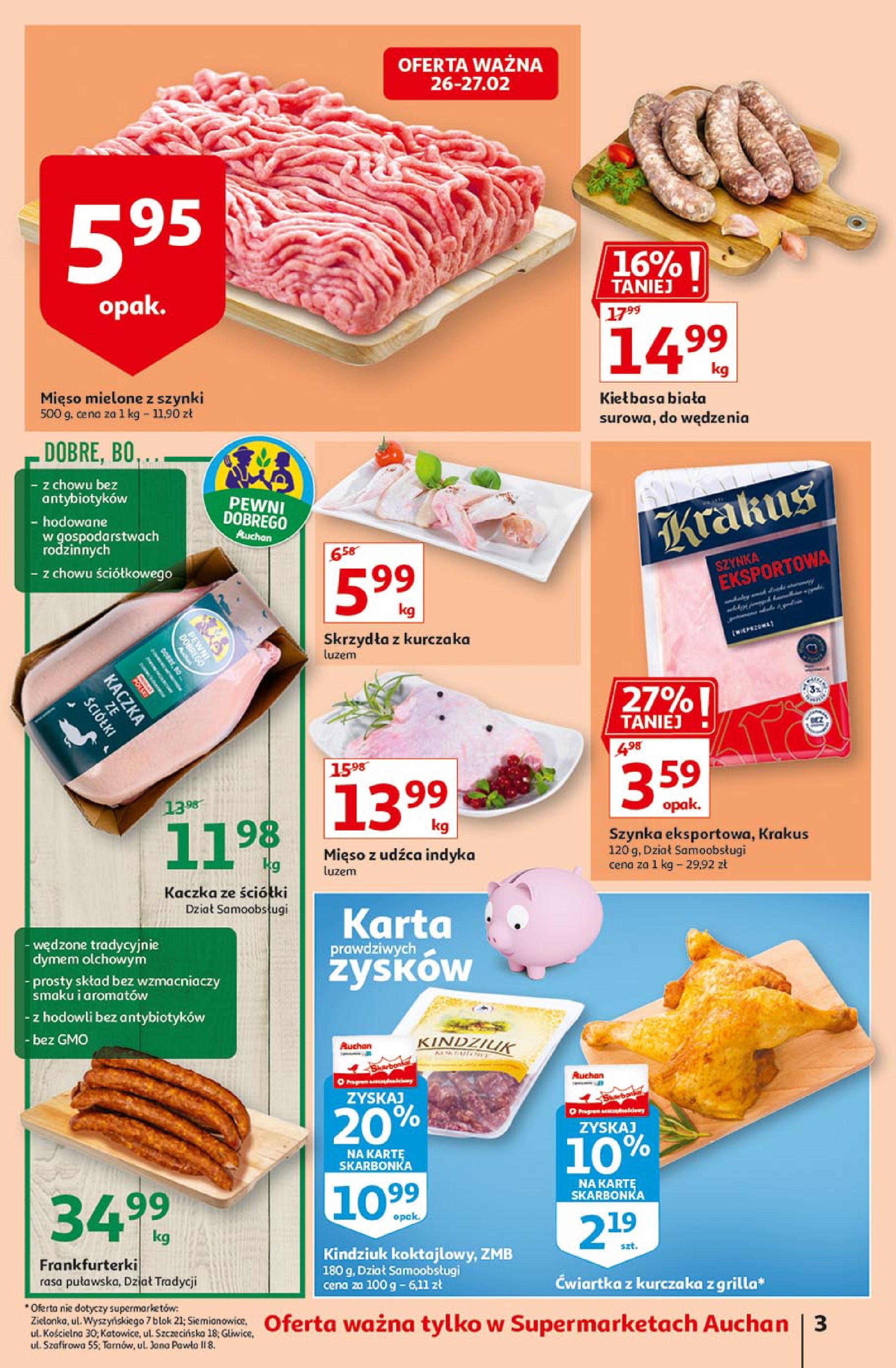 Gazetka Auchan: Uroda Supermarkety 2021-02-26 page-3