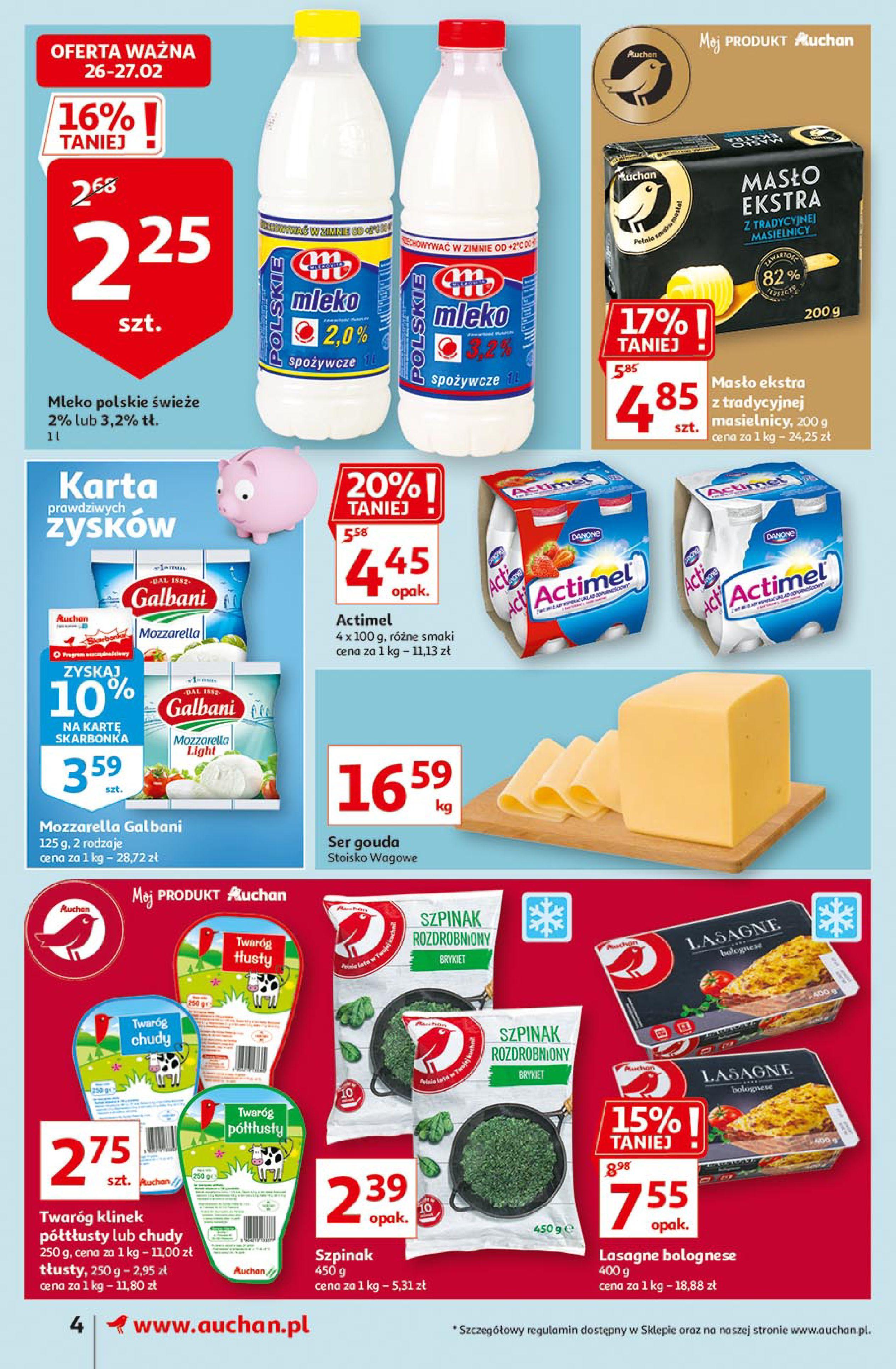 Gazetka Auchan: Uroda Supermarkety 2021-02-26 page-4