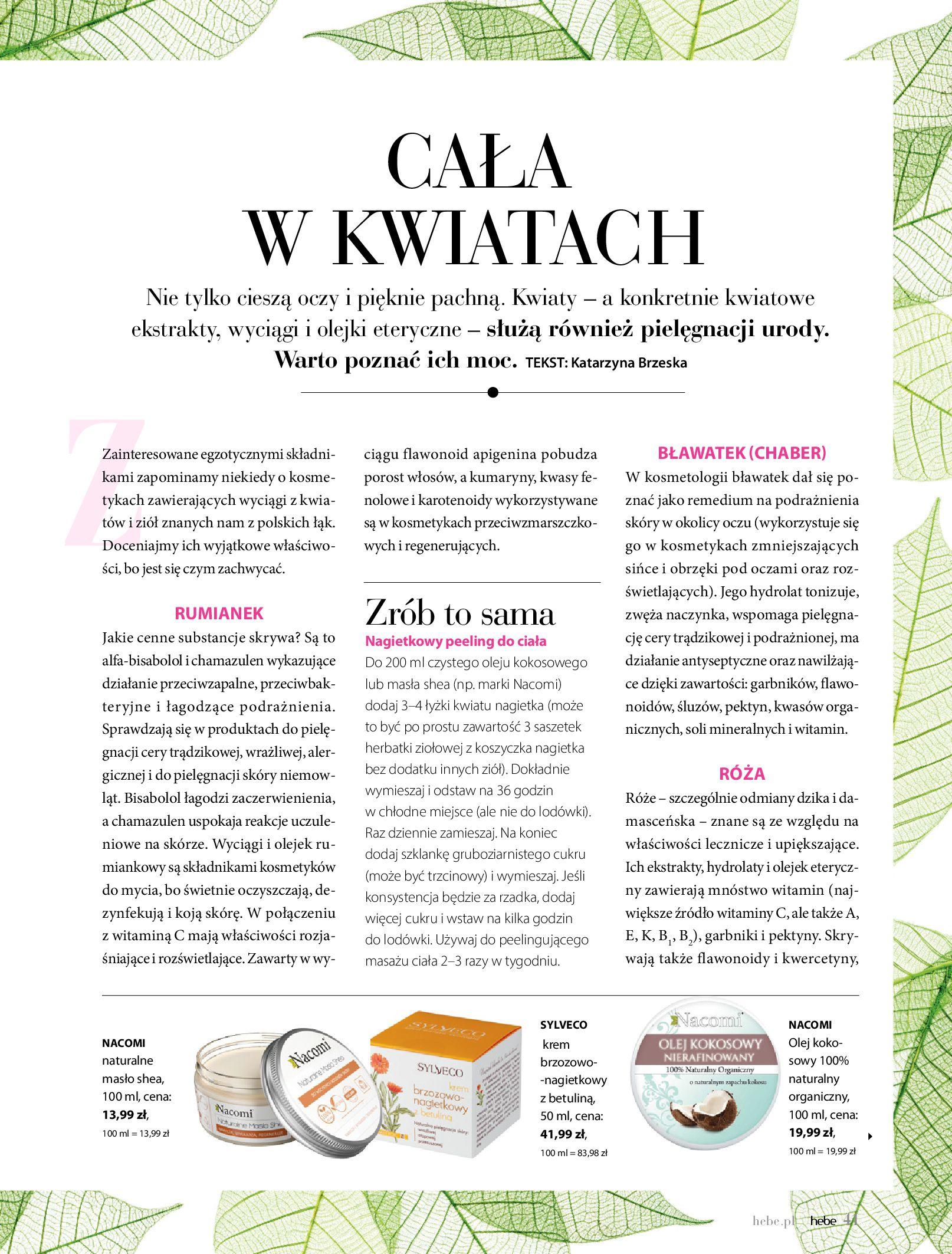 Gazetka hebe: Magazyn hebe 2021-03-11 page-41