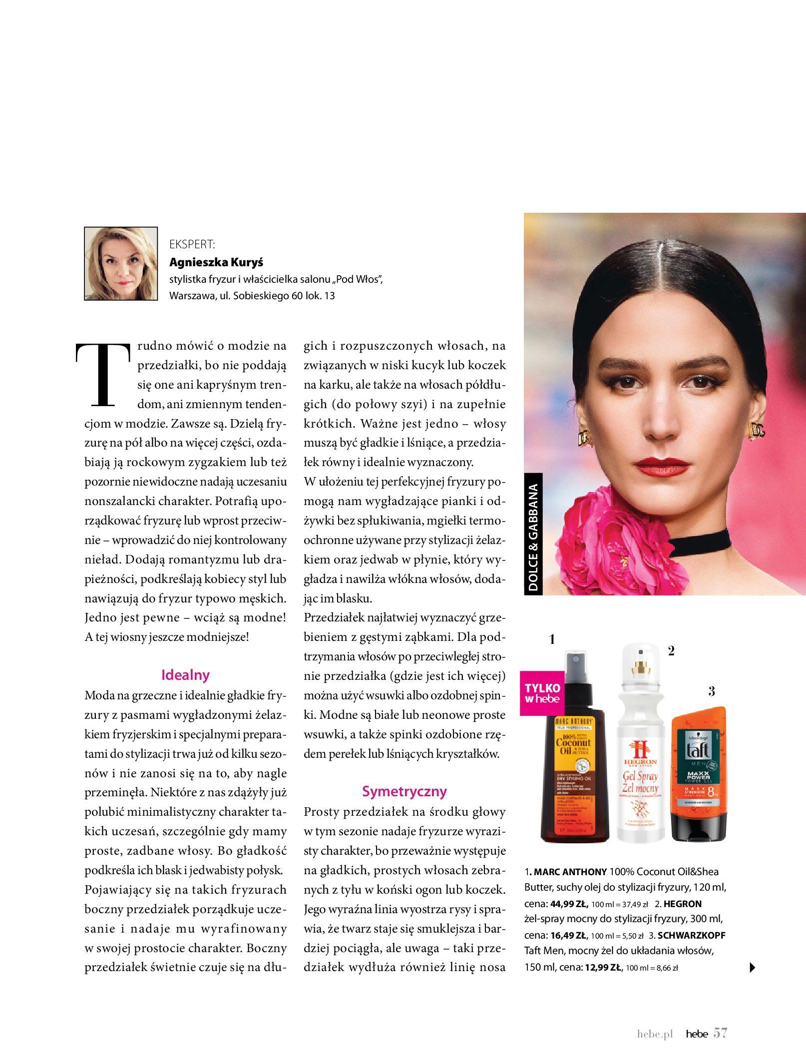 Gazetka hebe: Magazyn hebe 2021-03-11 page-57