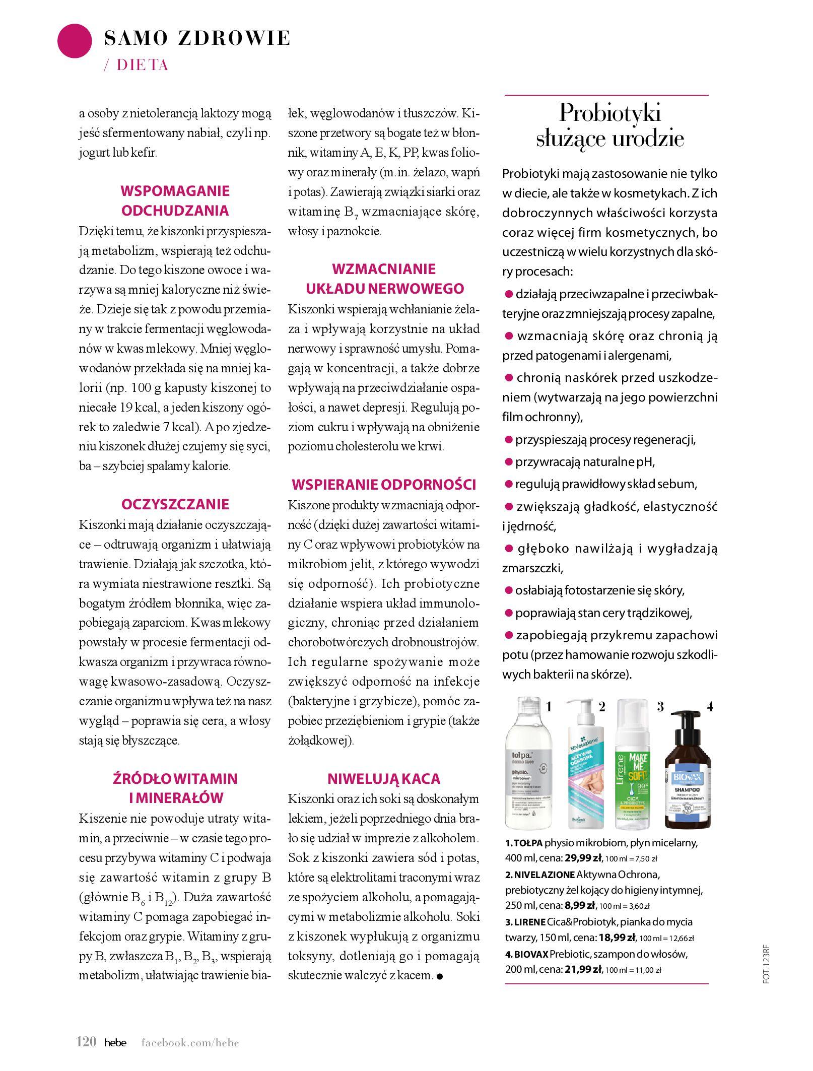 Gazetka hebe: Magazyn hebe 2021-03-11 page-120
