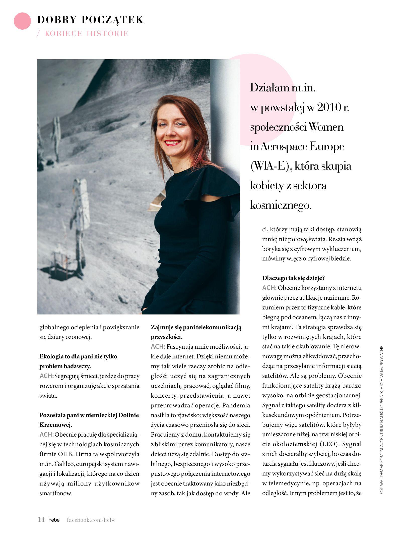 Gazetka hebe: Magazyn hebe 2021-03-11 page-14