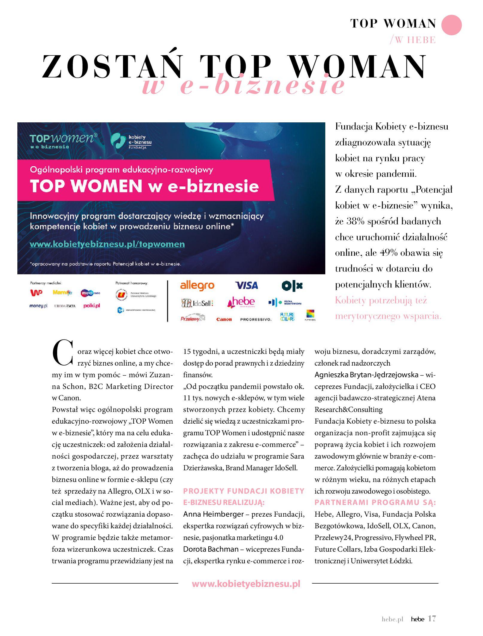 Gazetka hebe: Magazyn hebe 2021-03-11 page-17