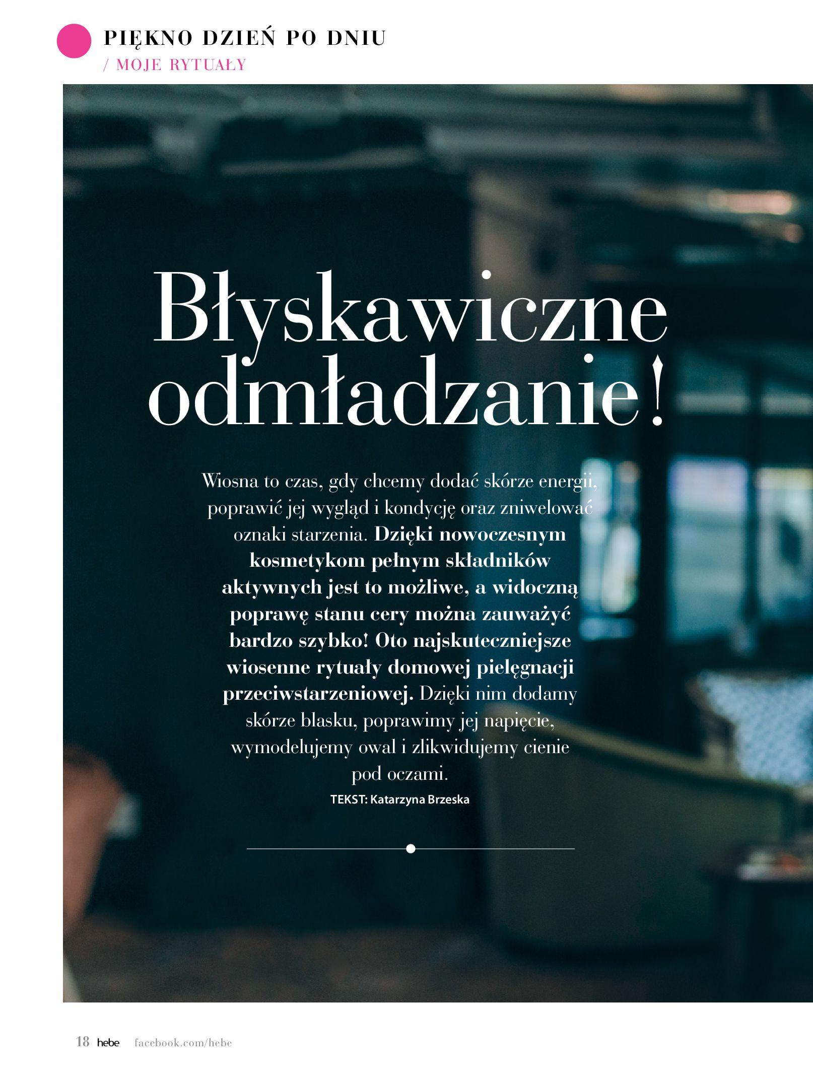 Gazetka hebe: Magazyn hebe 2021-03-11 page-18