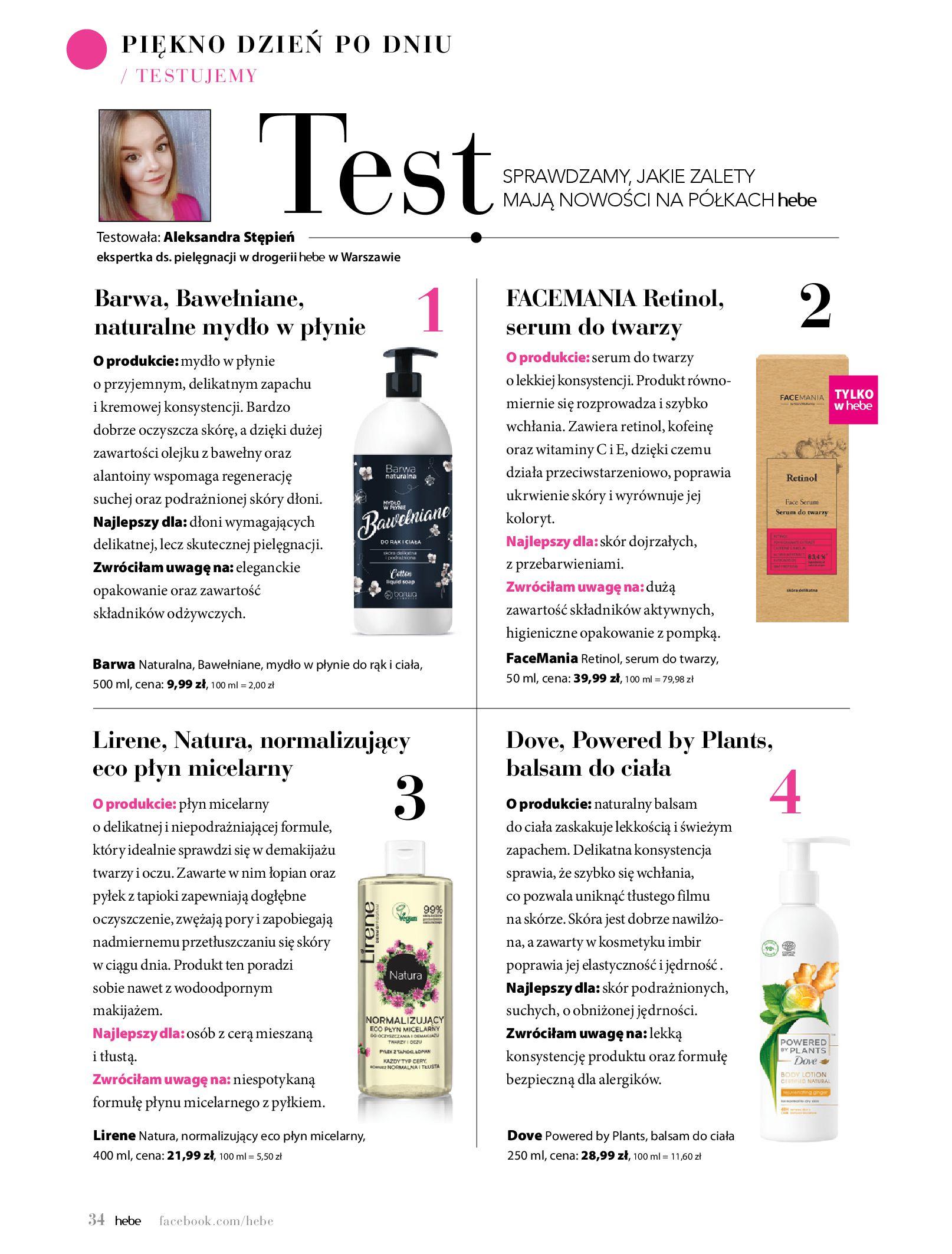 Gazetka hebe: Magazyn hebe 2021-03-11 page-34
