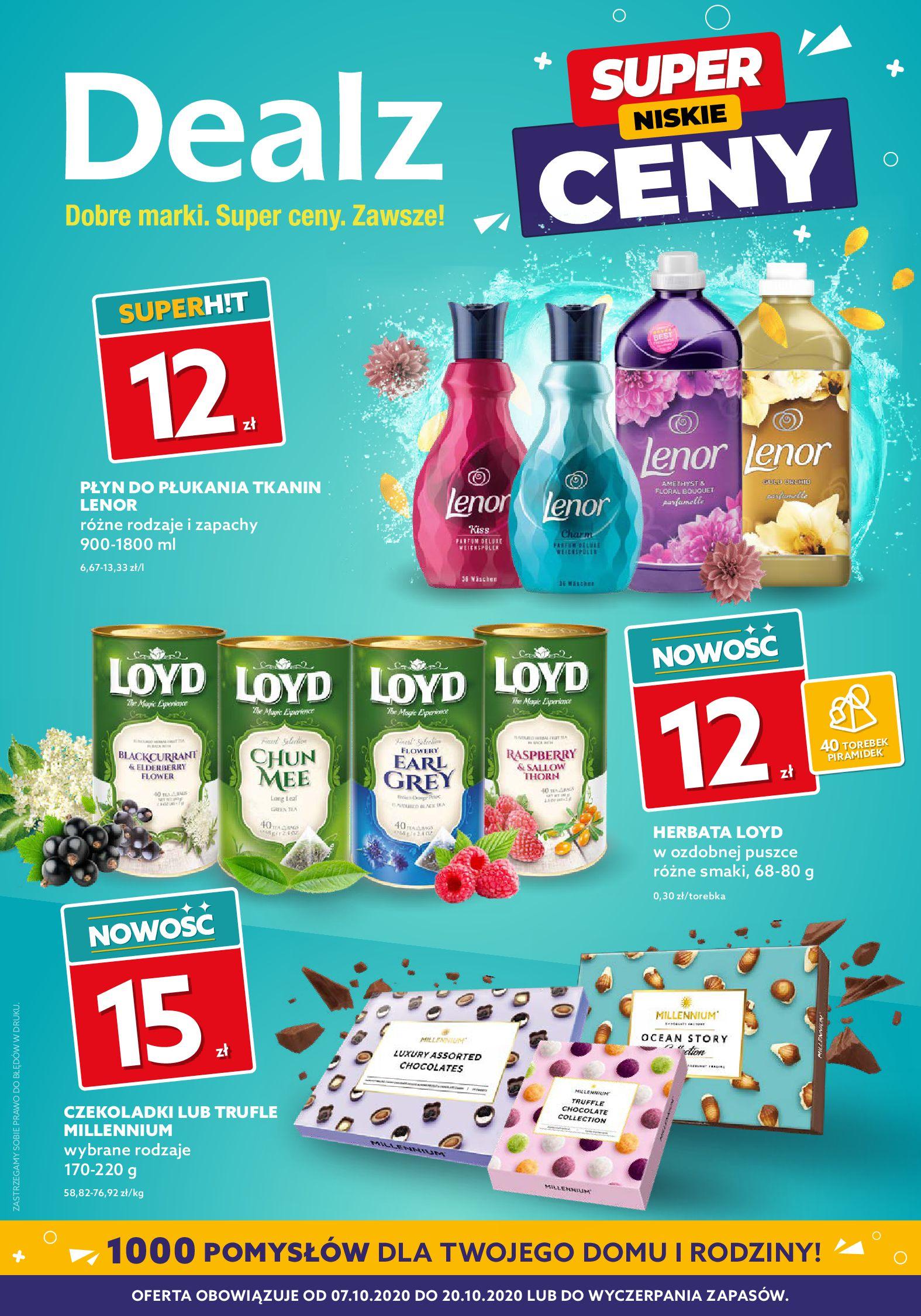 Gazetka Dealz  - Oferta handlowa-06.10.2020-20.10.2020-page-1