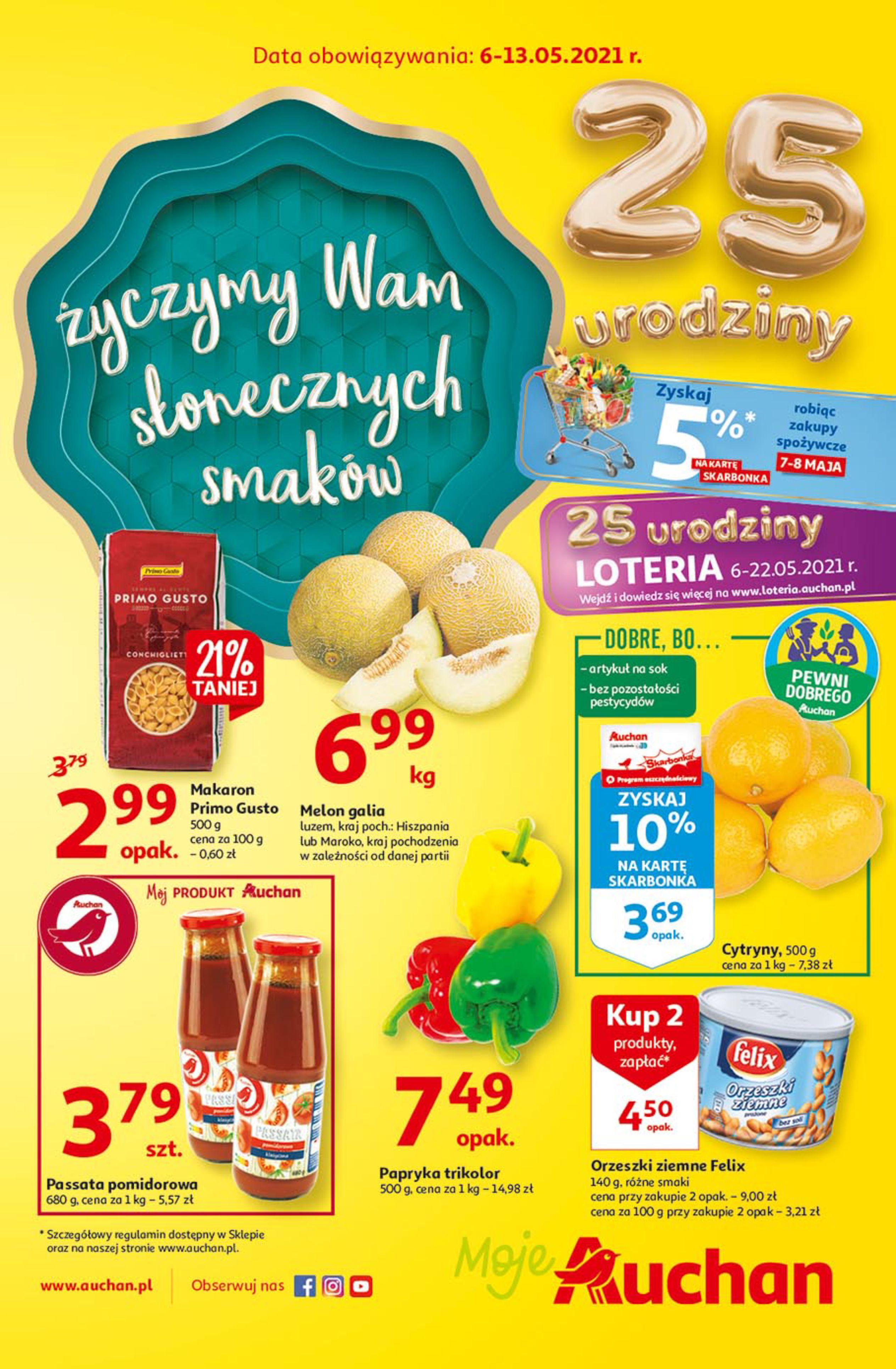 Auchan:  25 Urodziny #3 Moje Auchan 05.05.2021