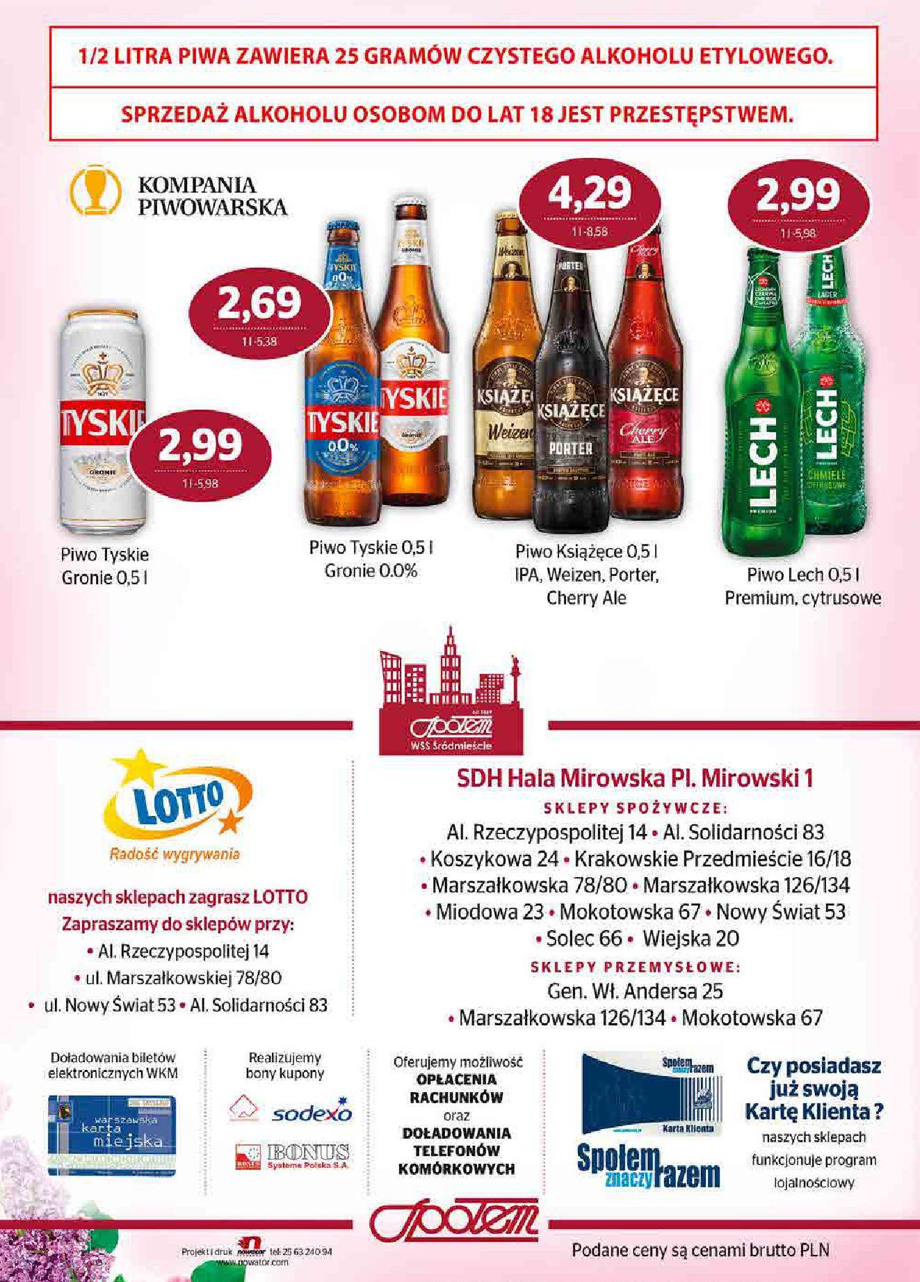 Gazetka Społem Sp z o.o.: Gazetka Społem Sp z o.o. 2021-06-01 page-20