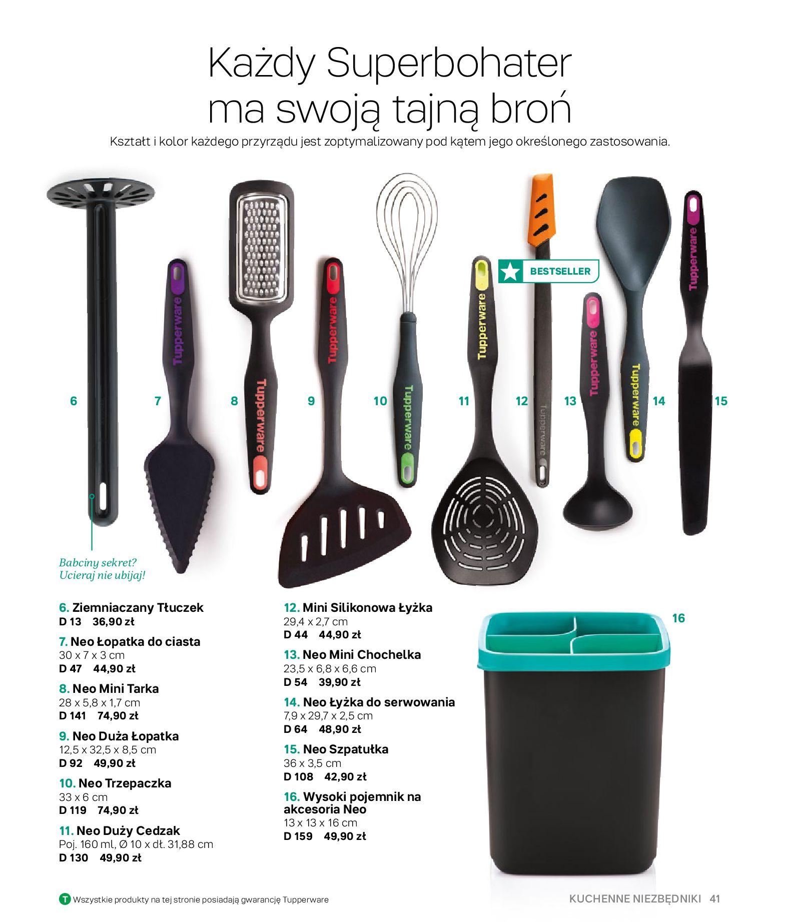 Gazetka Tupperware: Gazetka Tupperware - Katalog wiosna/ lato 2021-05-10 page-41