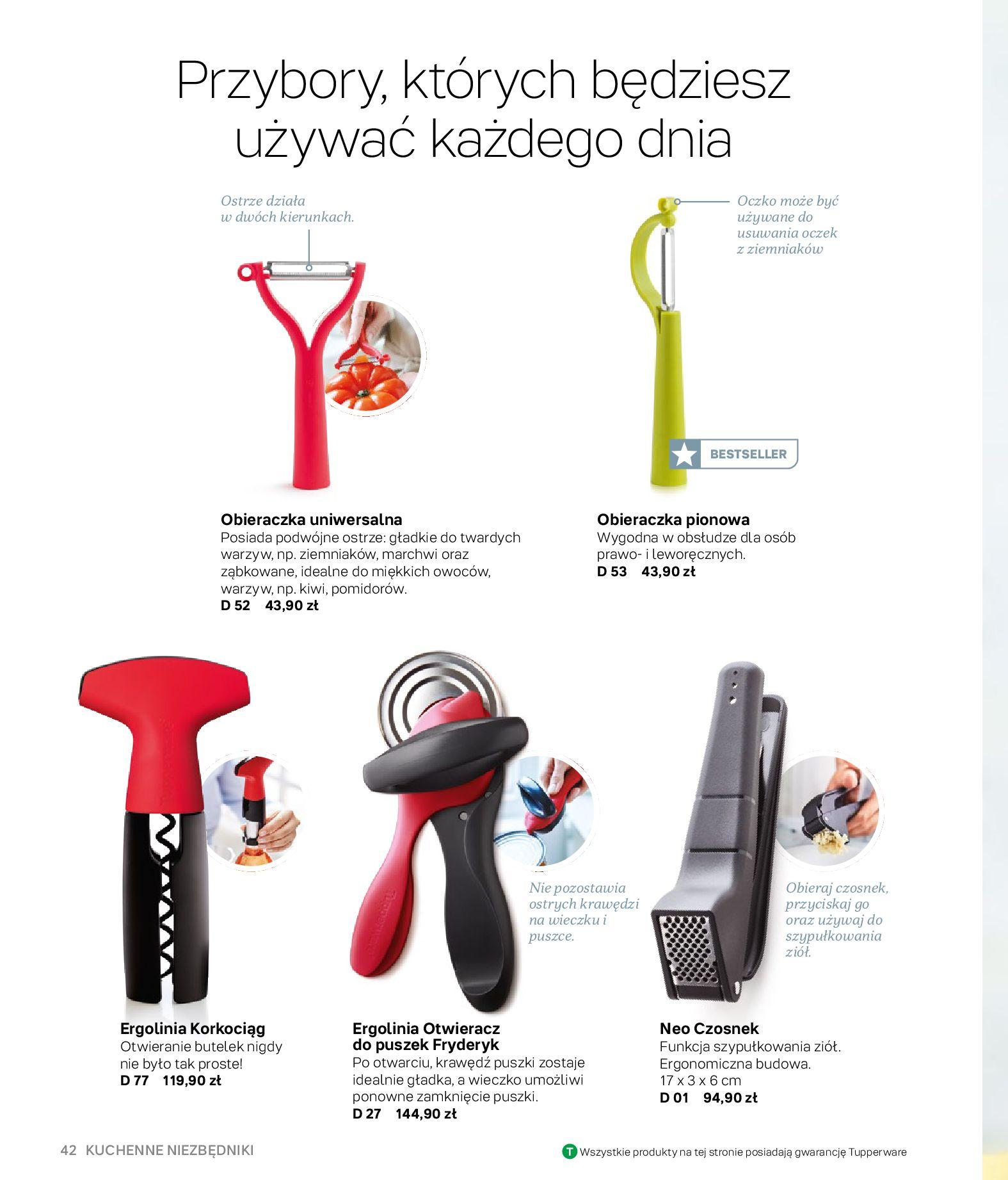 Gazetka Tupperware: Gazetka Tupperware - Katalog wiosna/ lato 2021-05-10 page-42