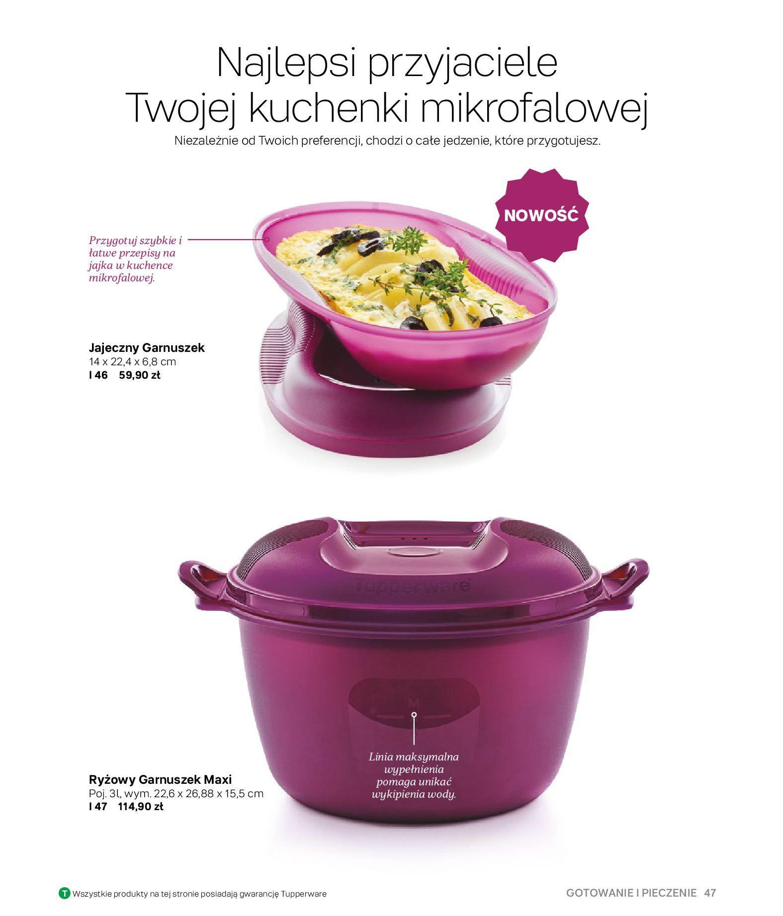 Gazetka Tupperware: Gazetka Tupperware - Katalog wiosna/ lato 2021-05-10 page-47