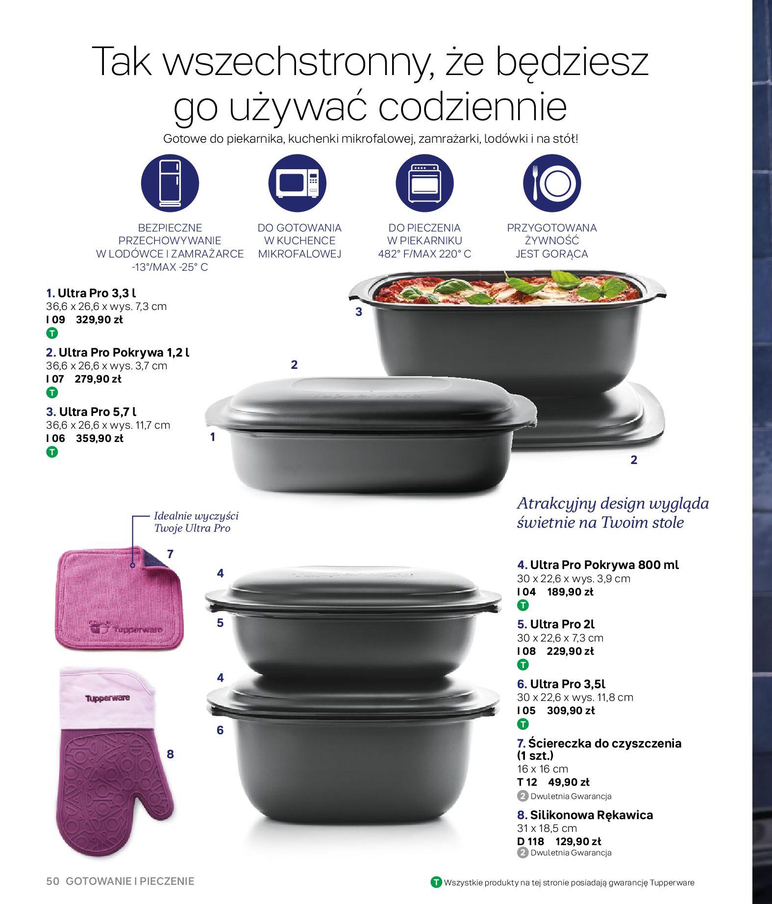 Gazetka Tupperware: Gazetka Tupperware - Katalog wiosna/ lato 2021-05-10 page-50