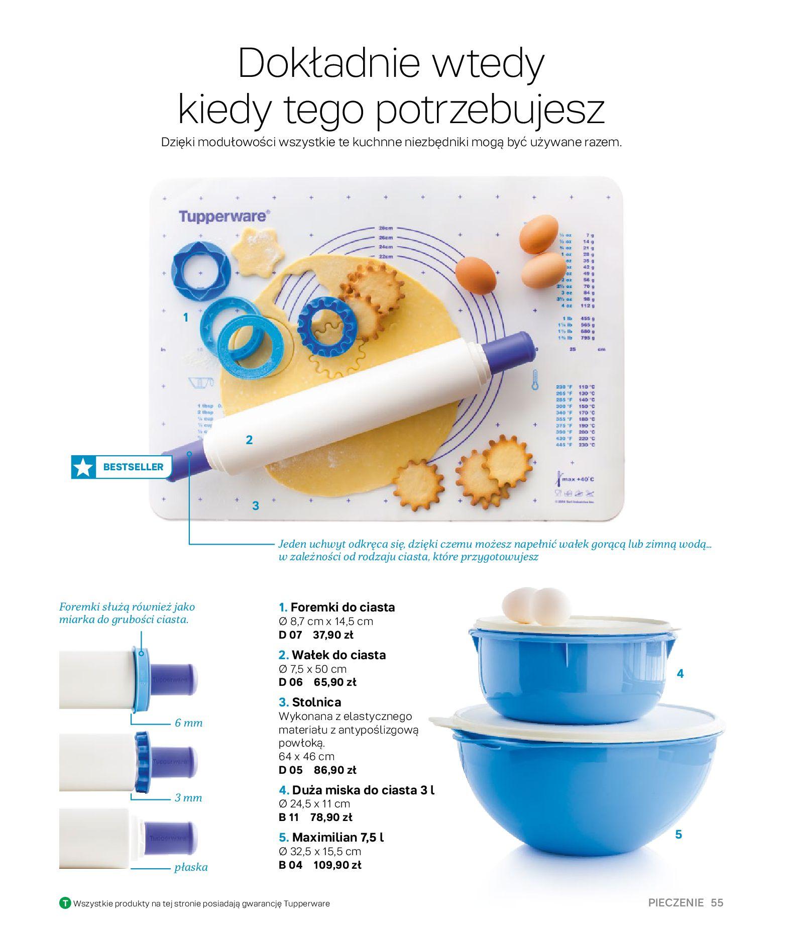 Gazetka Tupperware: Gazetka Tupperware - Katalog wiosna/ lato 2021-05-10 page-55