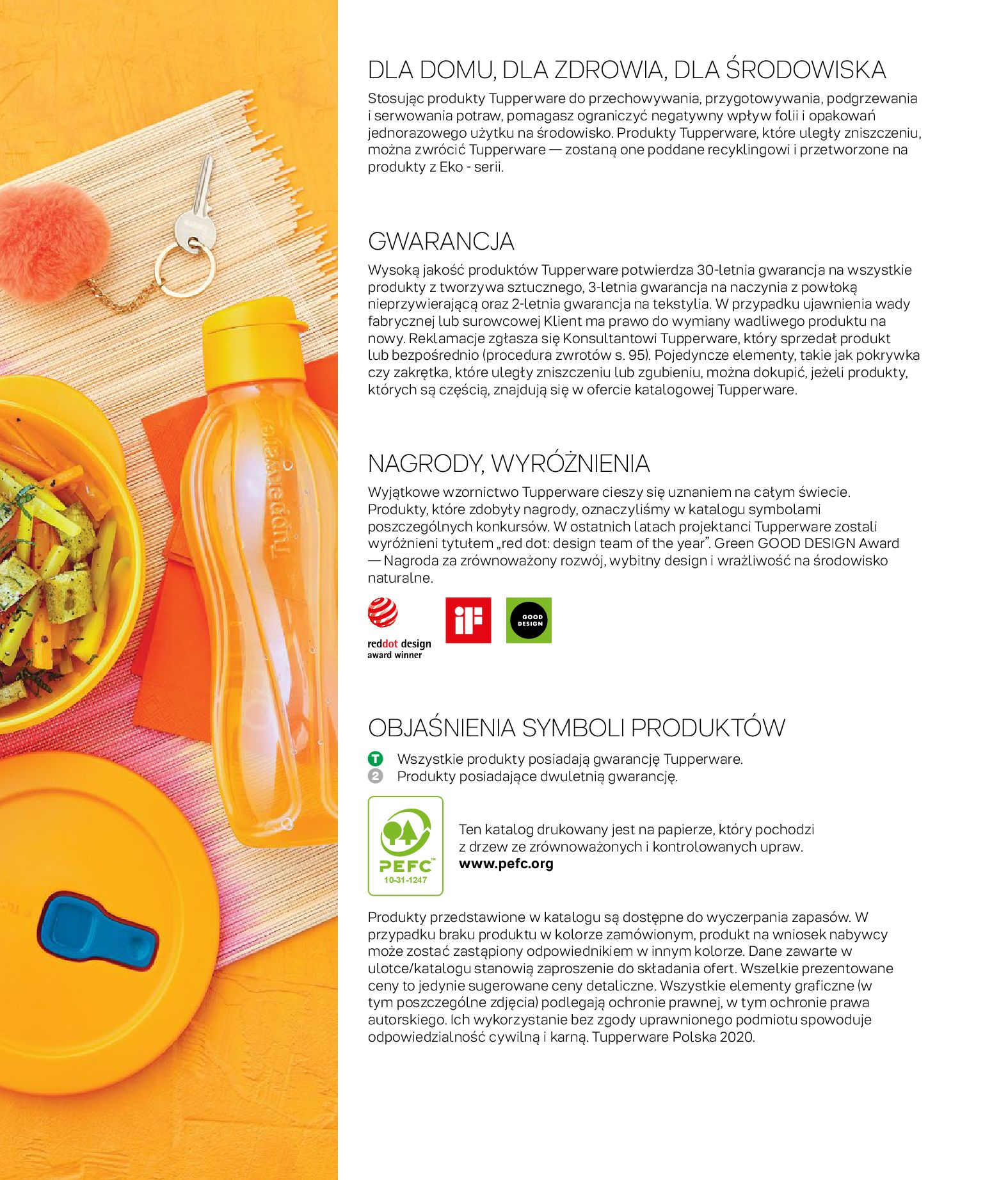 Gazetka Tupperware: Gazetka Tupperware - Katalog wiosna/ lato 2021-05-10 page-63