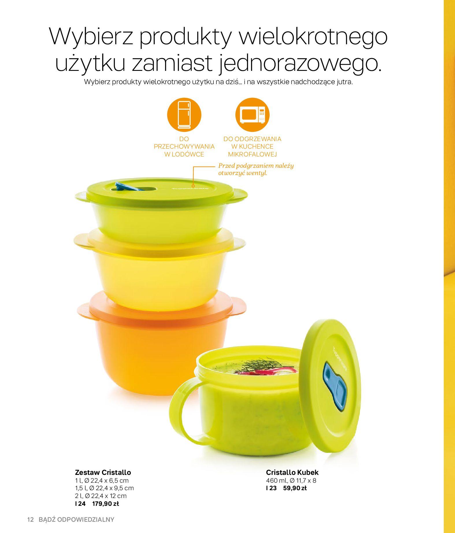 Gazetka Tupperware: Gazetka Tupperware - Katalog wiosna/ lato 2021-05-10 page-12