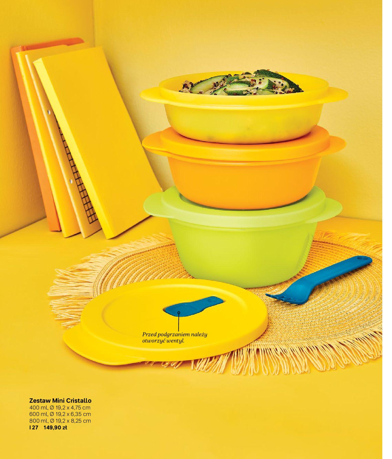 Gazetka Tupperware: Gazetka Tupperware - Katalog wiosna/ lato 2021-05-10 page-13