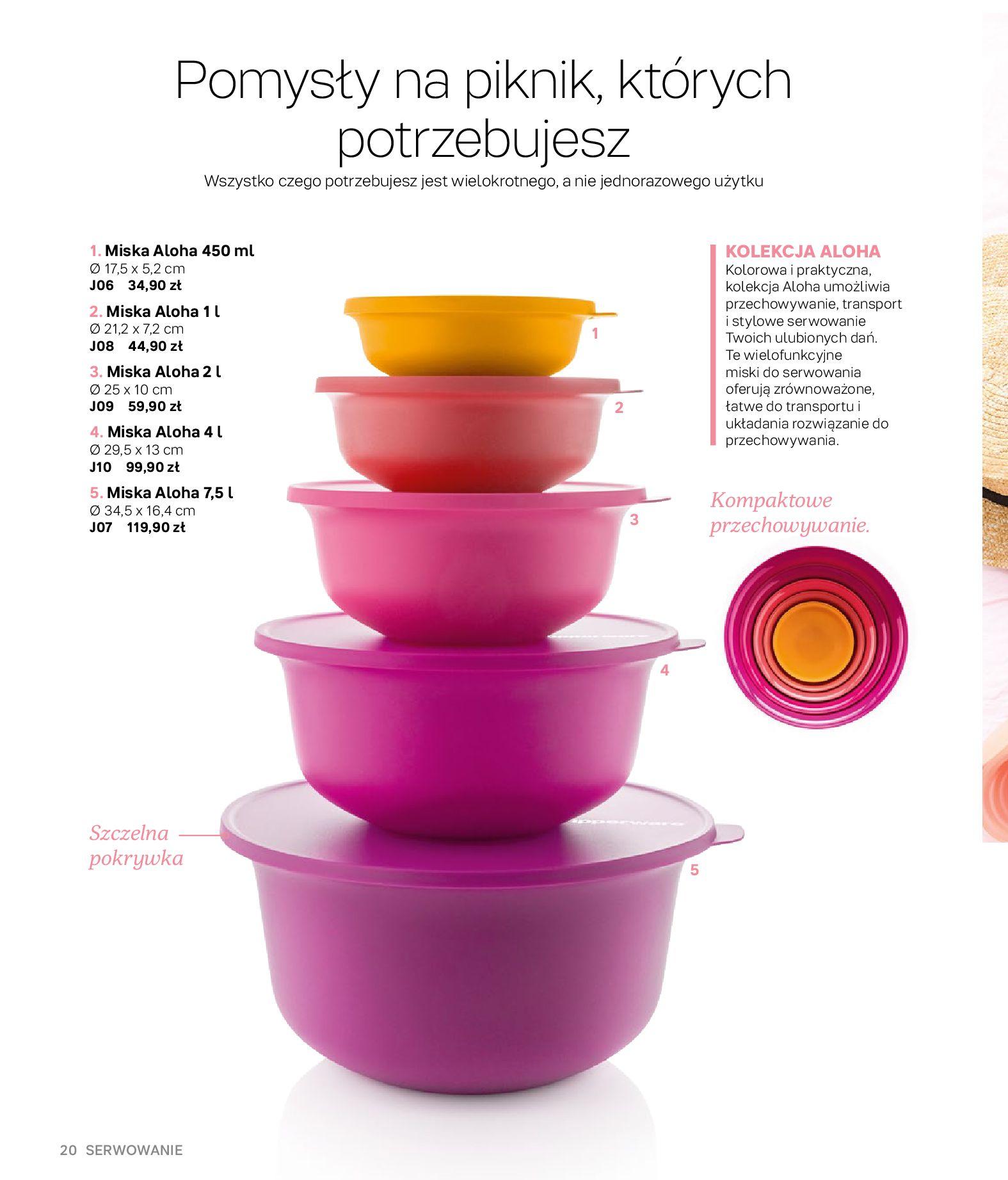 Gazetka Tupperware: Gazetka Tupperware - Katalog wiosna/ lato 2021-05-10 page-20