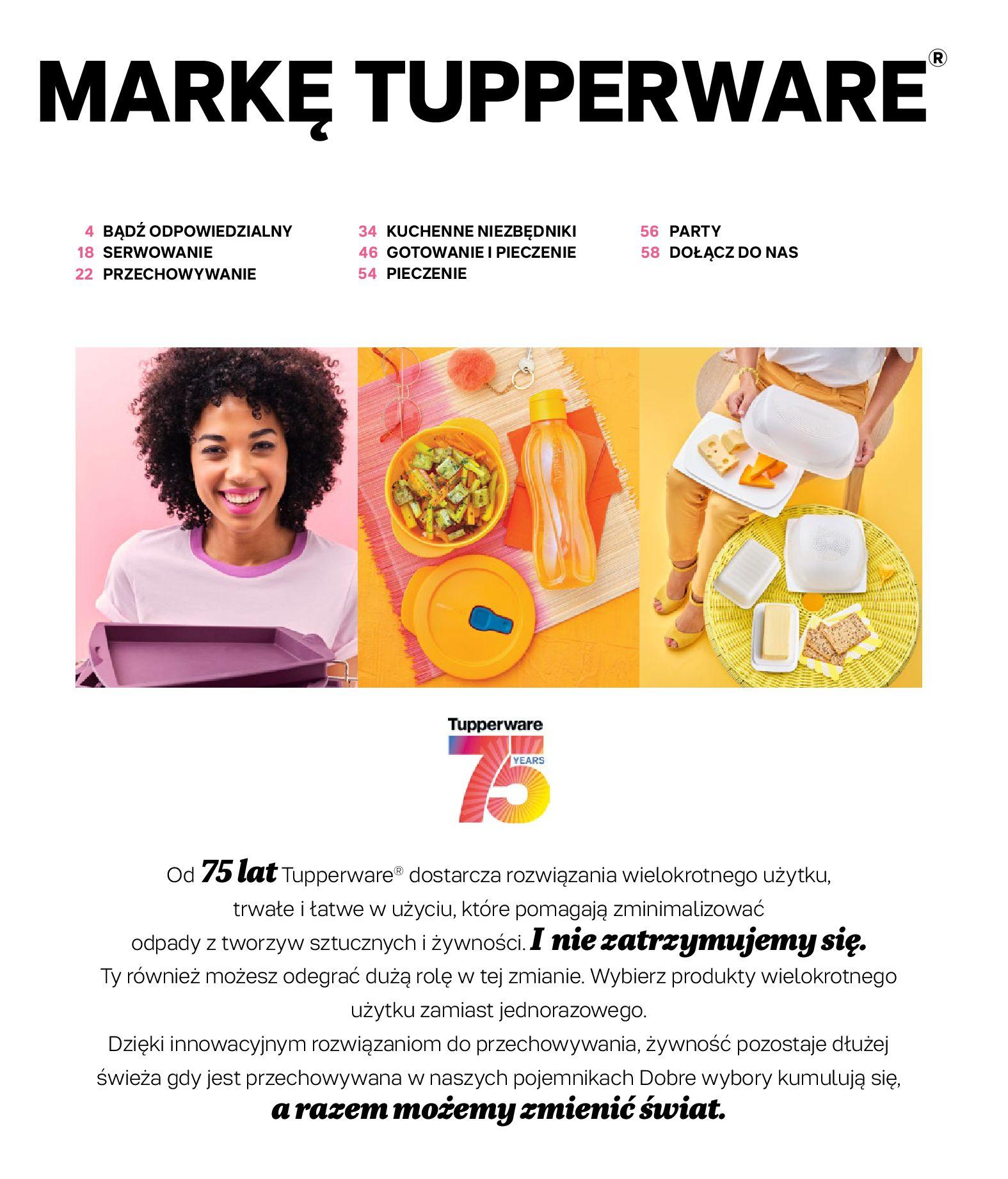 Gazetka Tupperware: Gazetka Tupperware - Katalog wiosna/ lato 2021-05-10 page-3