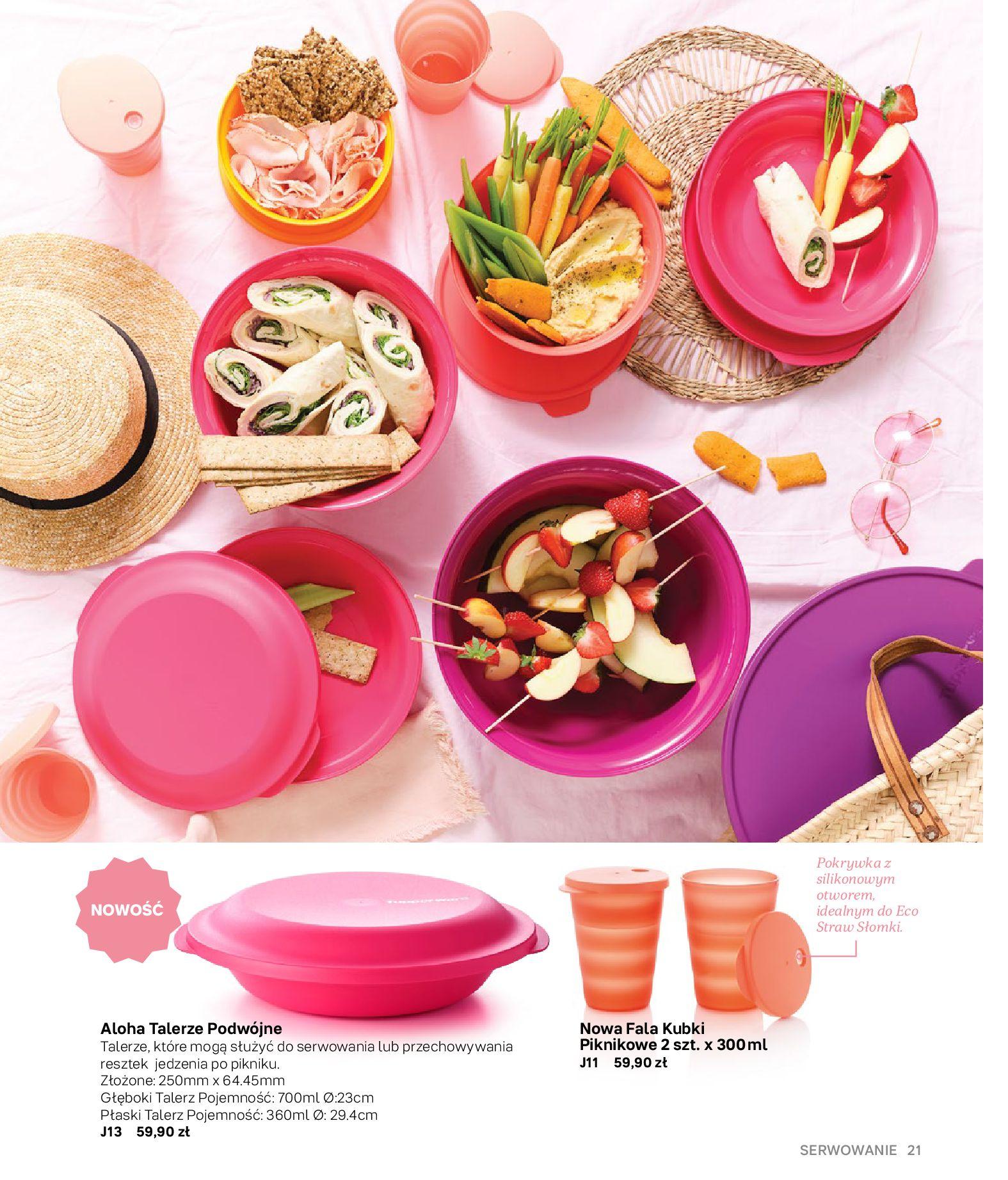 Gazetka Tupperware: Gazetka Tupperware - Katalog wiosna/ lato 2021-05-10 page-21