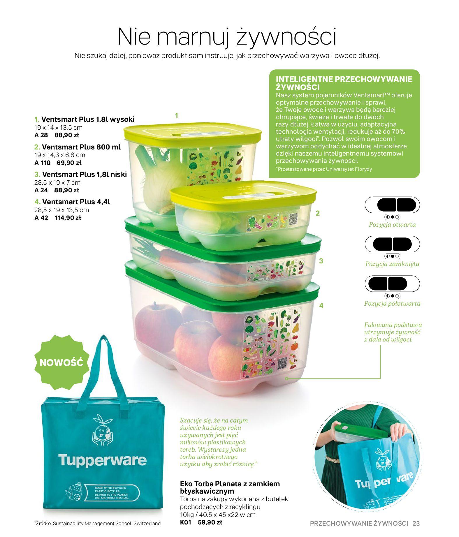 Gazetka Tupperware: Gazetka Tupperware - Katalog wiosna/ lato 2021-05-10 page-23