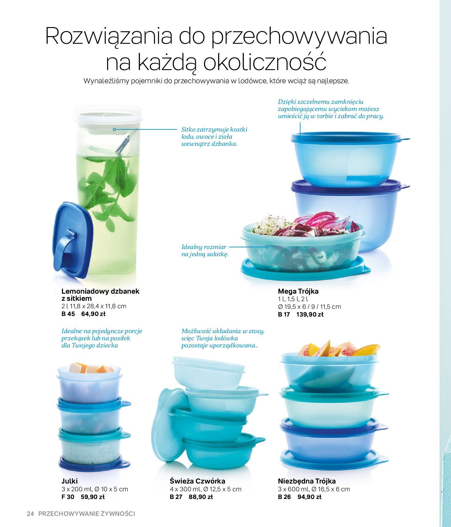 Gazetka Tupperware: Gazetka Tupperware - Katalog wiosna/ lato 2021-05-10 page-24