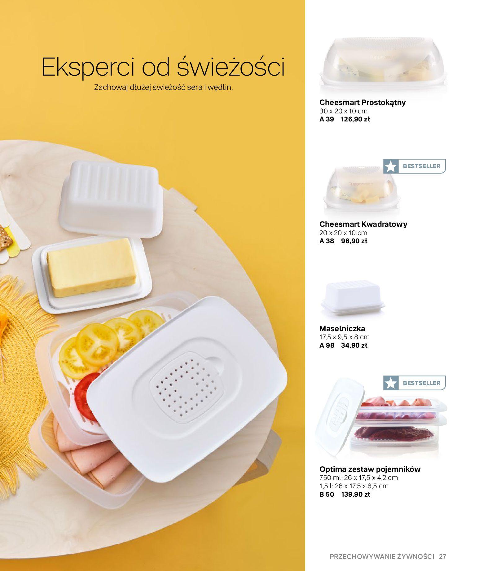 Gazetka Tupperware: Gazetka Tupperware - Katalog wiosna/ lato 2021-05-10 page-27