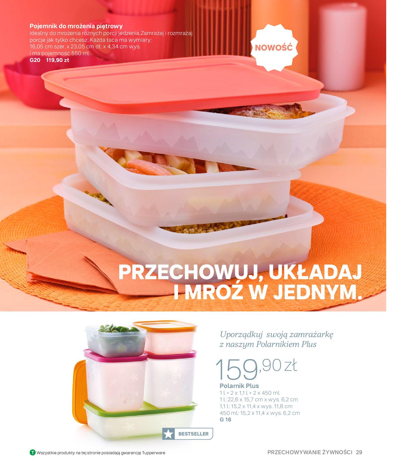 Gazetka Tupperware: Gazetka Tupperware - Katalog wiosna/ lato 2021-05-10 page-29