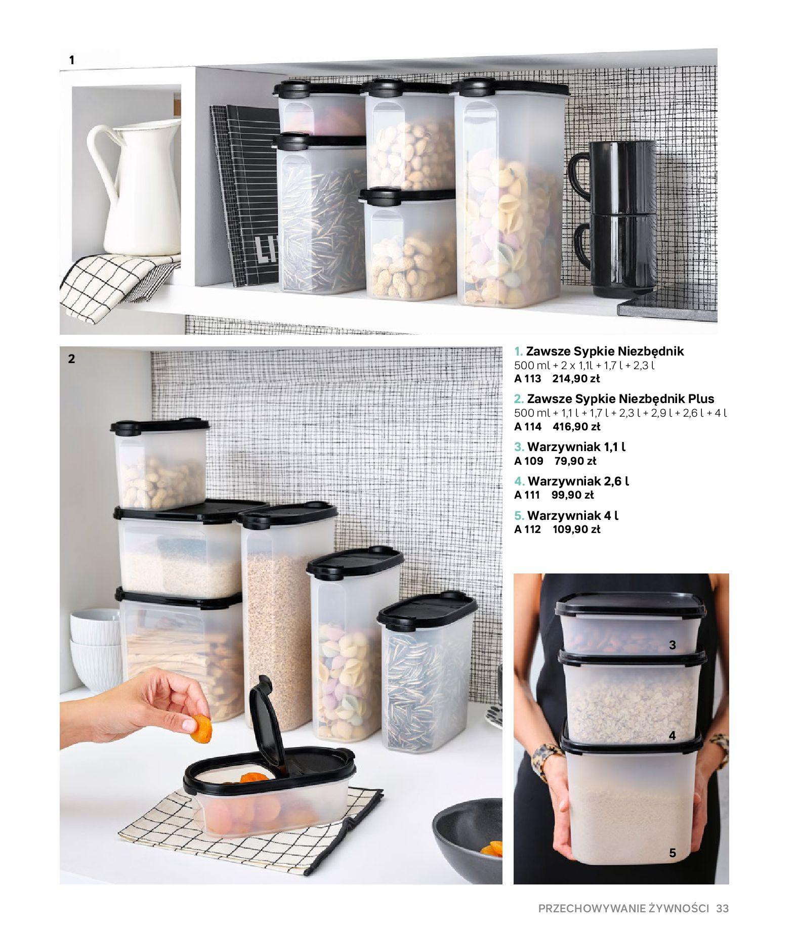 Gazetka Tupperware: Gazetka Tupperware - Katalog wiosna/ lato 2021-05-10 page-33