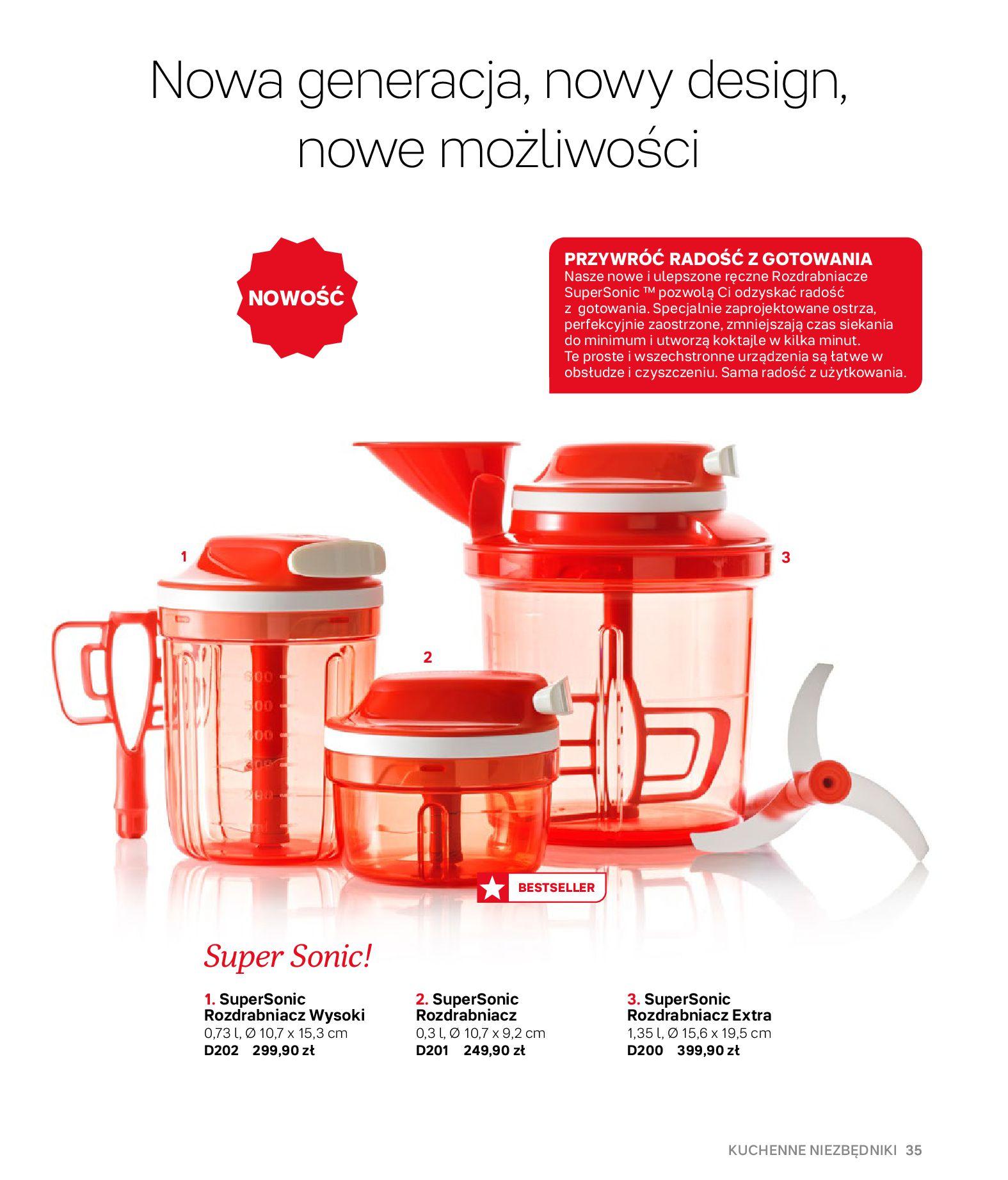 Gazetka Tupperware: Gazetka Tupperware - Katalog wiosna/ lato 2021-05-10 page-35