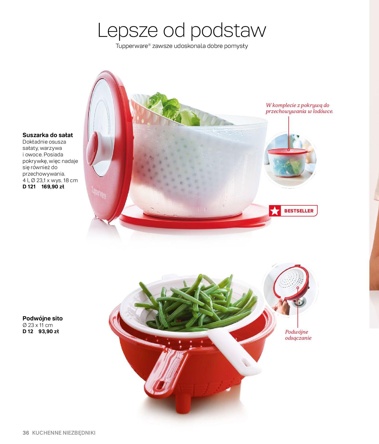 Gazetka Tupperware: Gazetka Tupperware - Katalog wiosna/ lato 2021-05-10 page-36