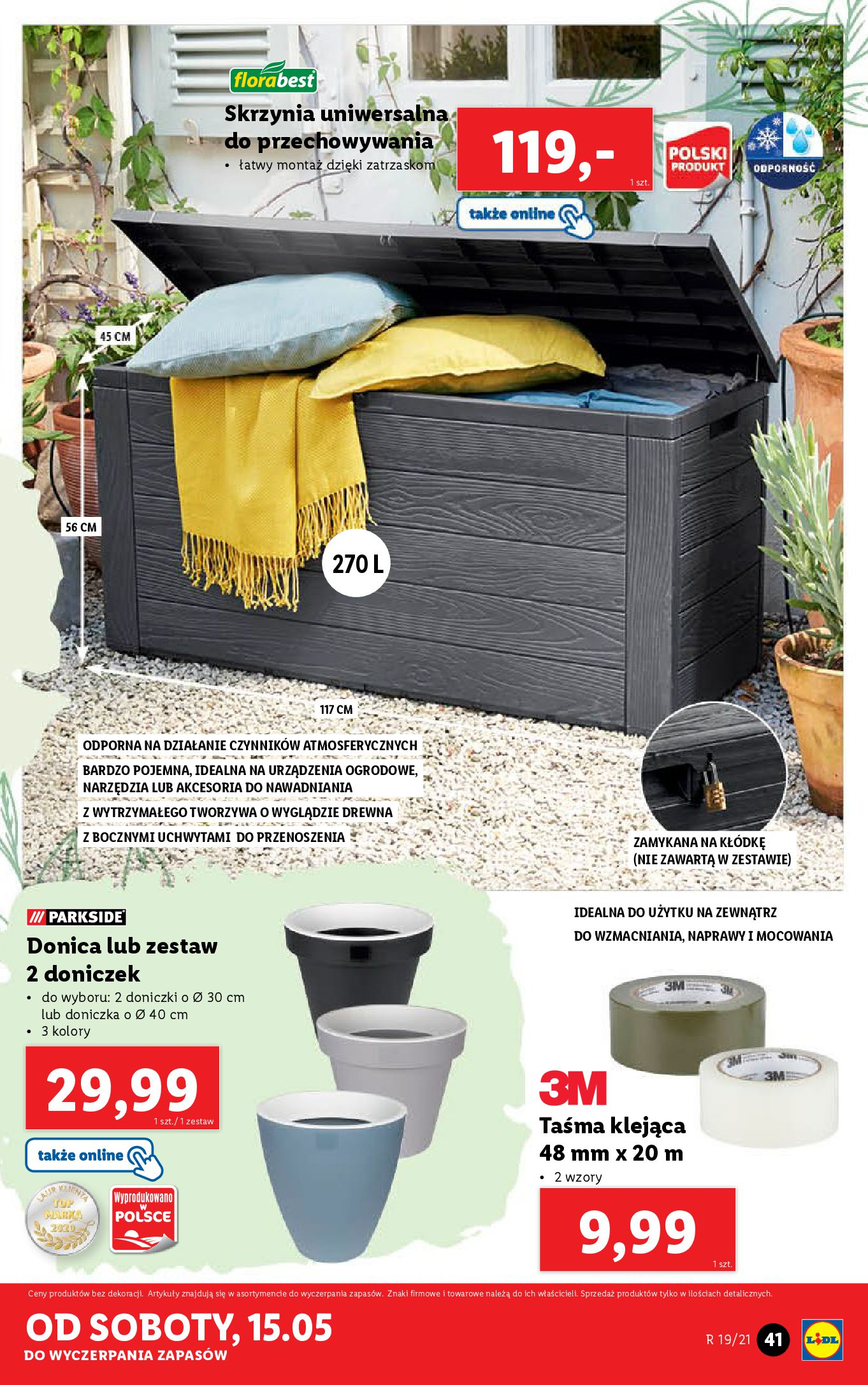 Gazetka Lidl: Katalog od 10.05 2021-05-10 page-41