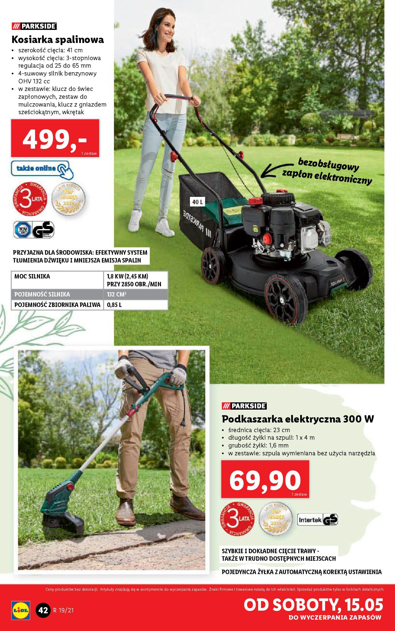 Gazetka Lidl: Katalog od 10.05 2021-05-10 page-42