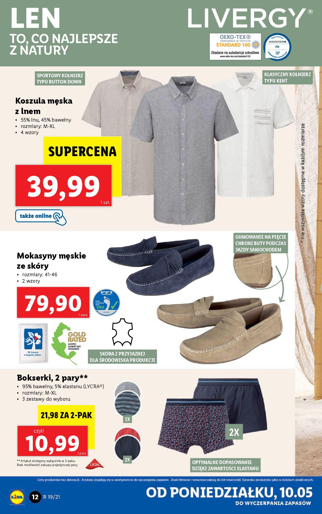 Gazetka Lidl: Katalog od 10.05 2021-05-10 page-12