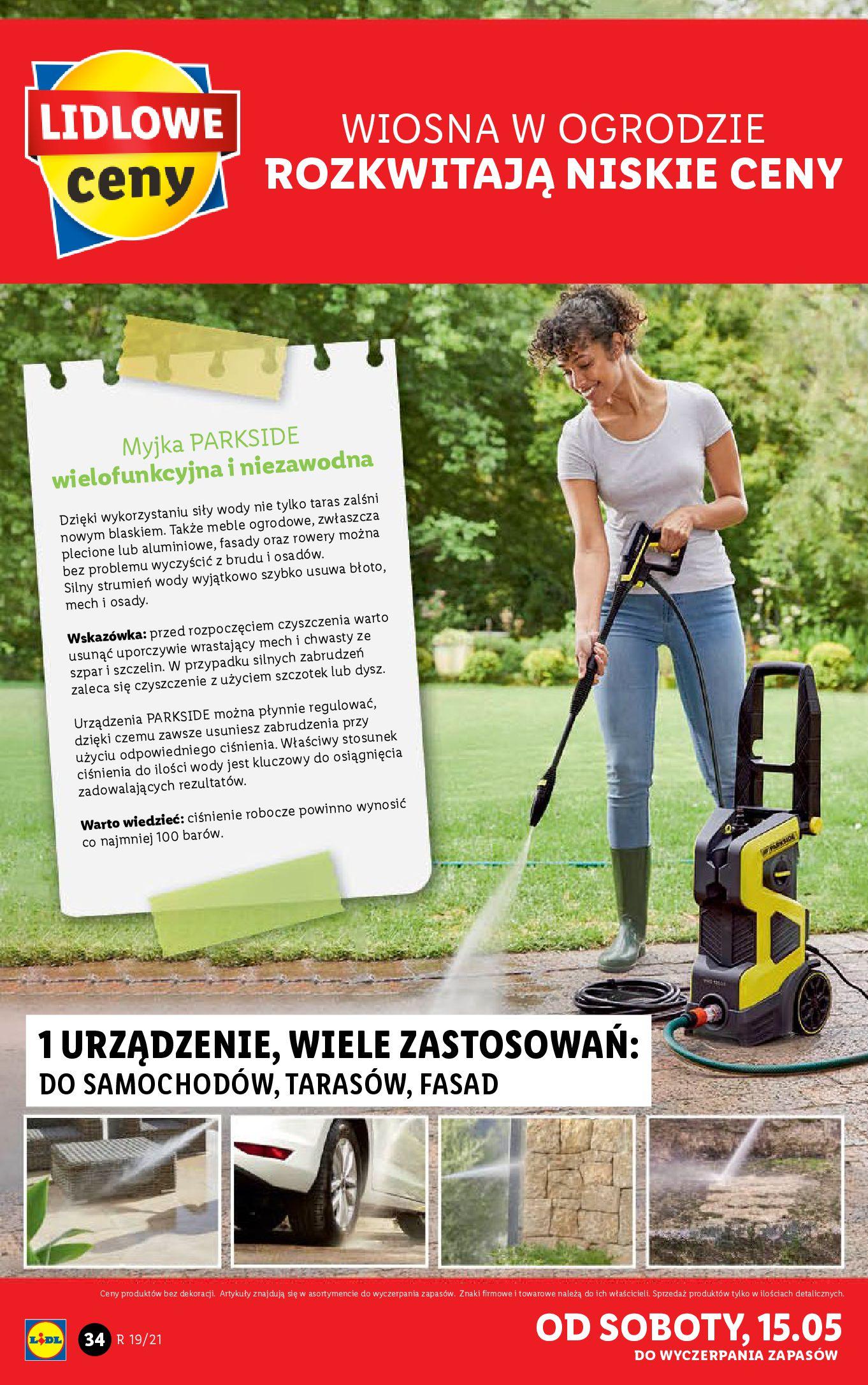 Gazetka Lidl: Katalog od 10.05 2021-05-10 page-34